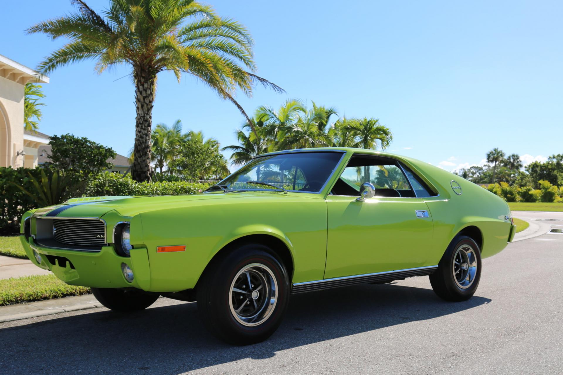 Used 1968 AMC AMX for sale Sold at Muscle Cars for Sale Inc. in Fort Myers FL 33912 3