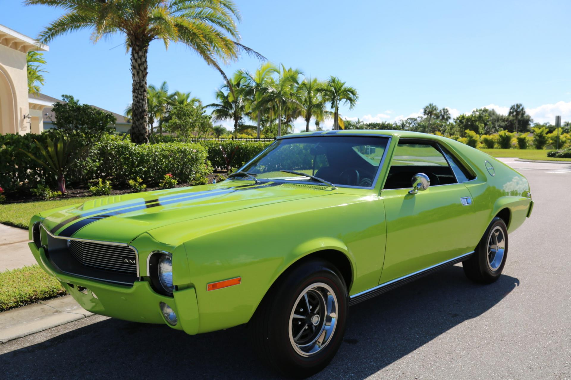Used 1968 AMC AMX for sale Sold at Muscle Cars for Sale Inc. in Fort Myers FL 33912 7