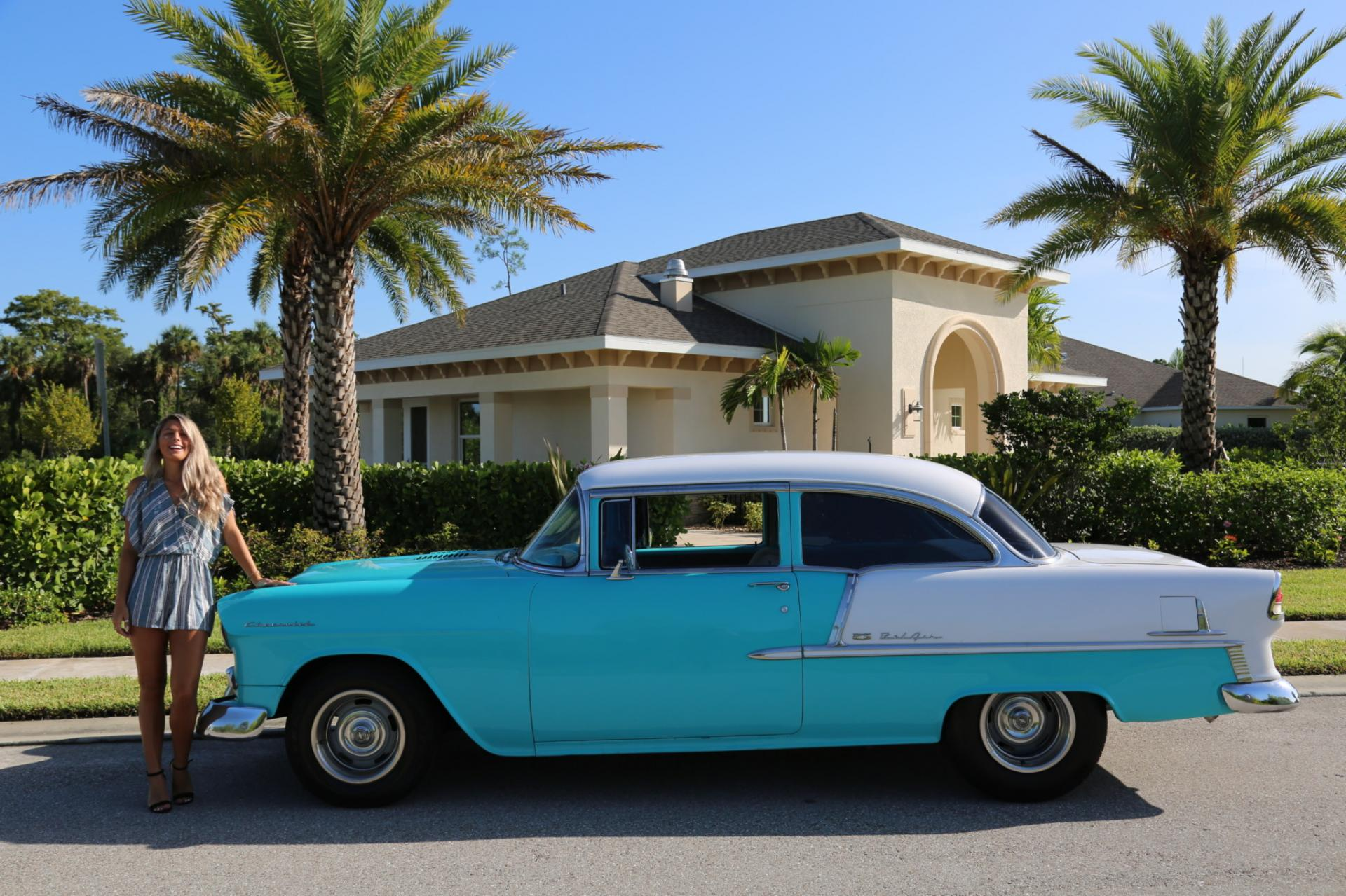 Used 1955 Chevrolet Bel Air for sale Sold at Muscle Cars for Sale Inc. in Fort Myers FL 33912 2