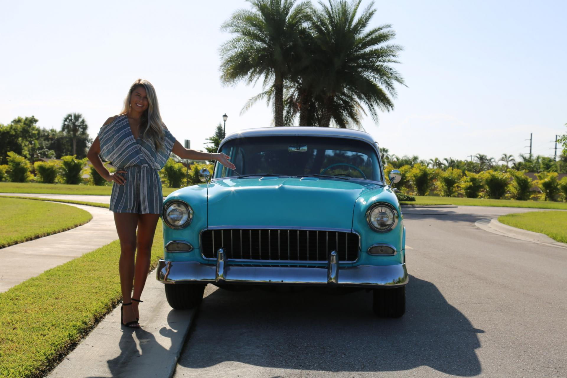 Used 1955 Chevrolet Bel Air for sale Sold at Muscle Cars for Sale Inc. in Fort Myers FL 33912 4