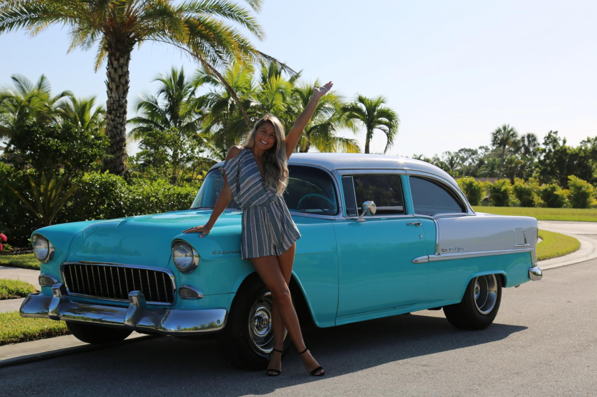 Used 1955 Chevrolet Bel Air for sale Sold at Muscle Cars for Sale Inc. in Fort Myers FL 33912 1