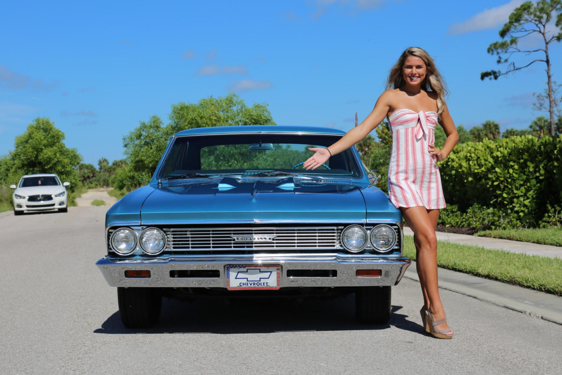 Used 1966 Chevrolet Malibu for sale Sold at Muscle Cars for Sale Inc. in Fort Myers FL 33912 2