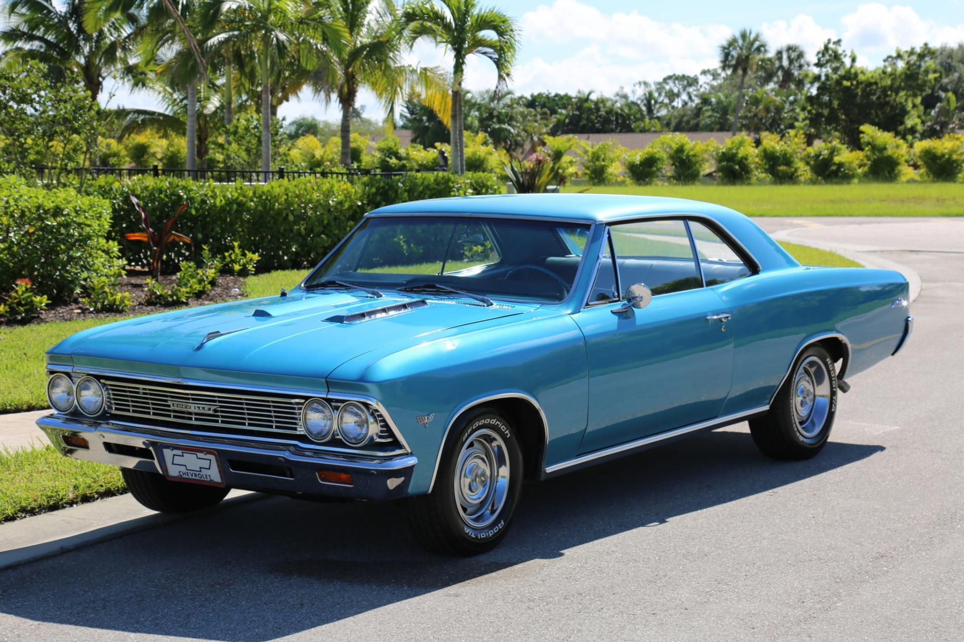 Used 1966 Chevrolet Malibu for sale Sold at Muscle Cars for Sale Inc. in Fort Myers FL 33912 4