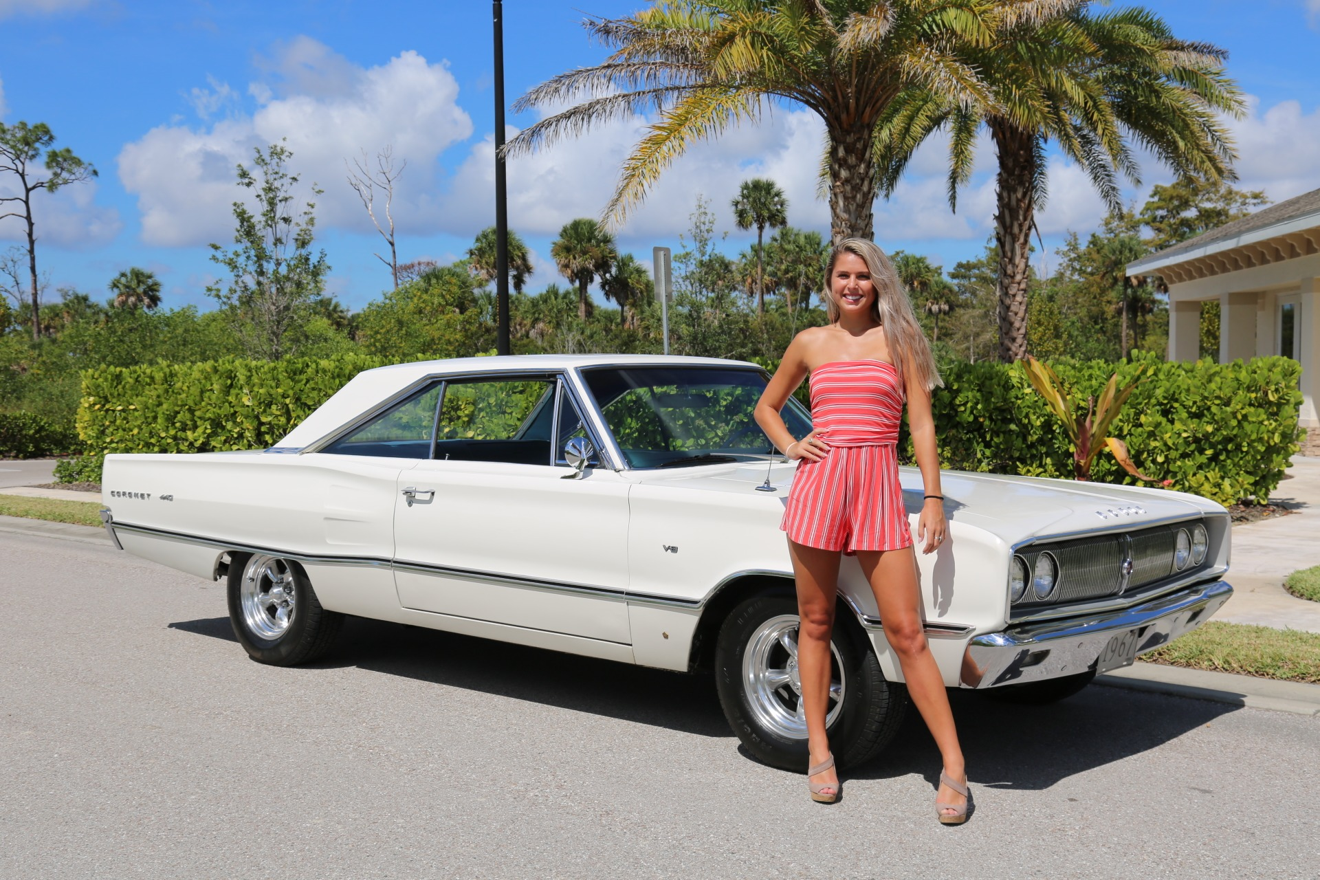 Used 1967 Dodge Coronet 440 for sale Sold at Muscle Cars for Sale Inc. in Fort Myers FL 33912 3