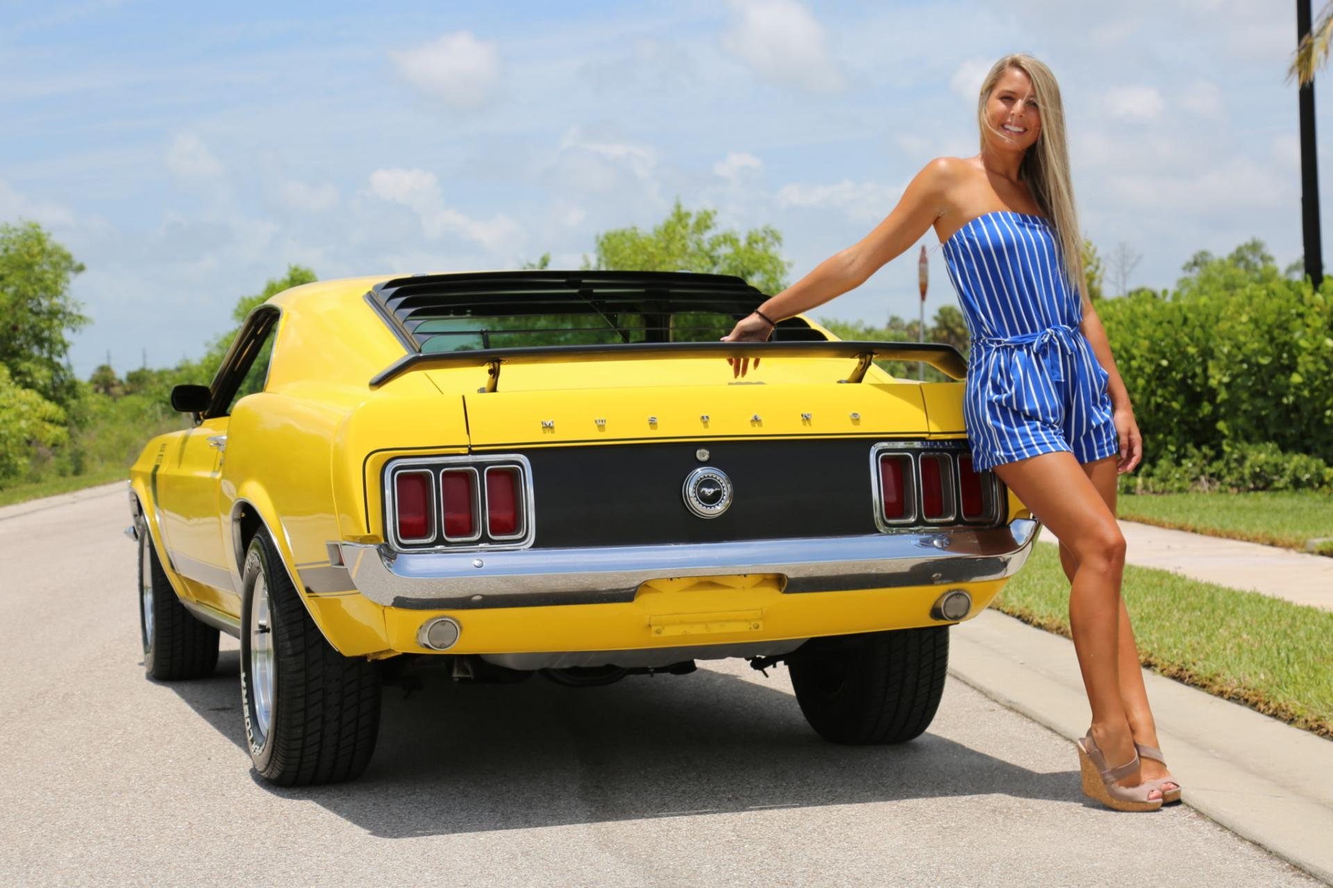 Used 1970 Ford  Mustang 302 Boss for sale Sold at Muscle Cars for Sale Inc. in Fort Myers FL 33912 7