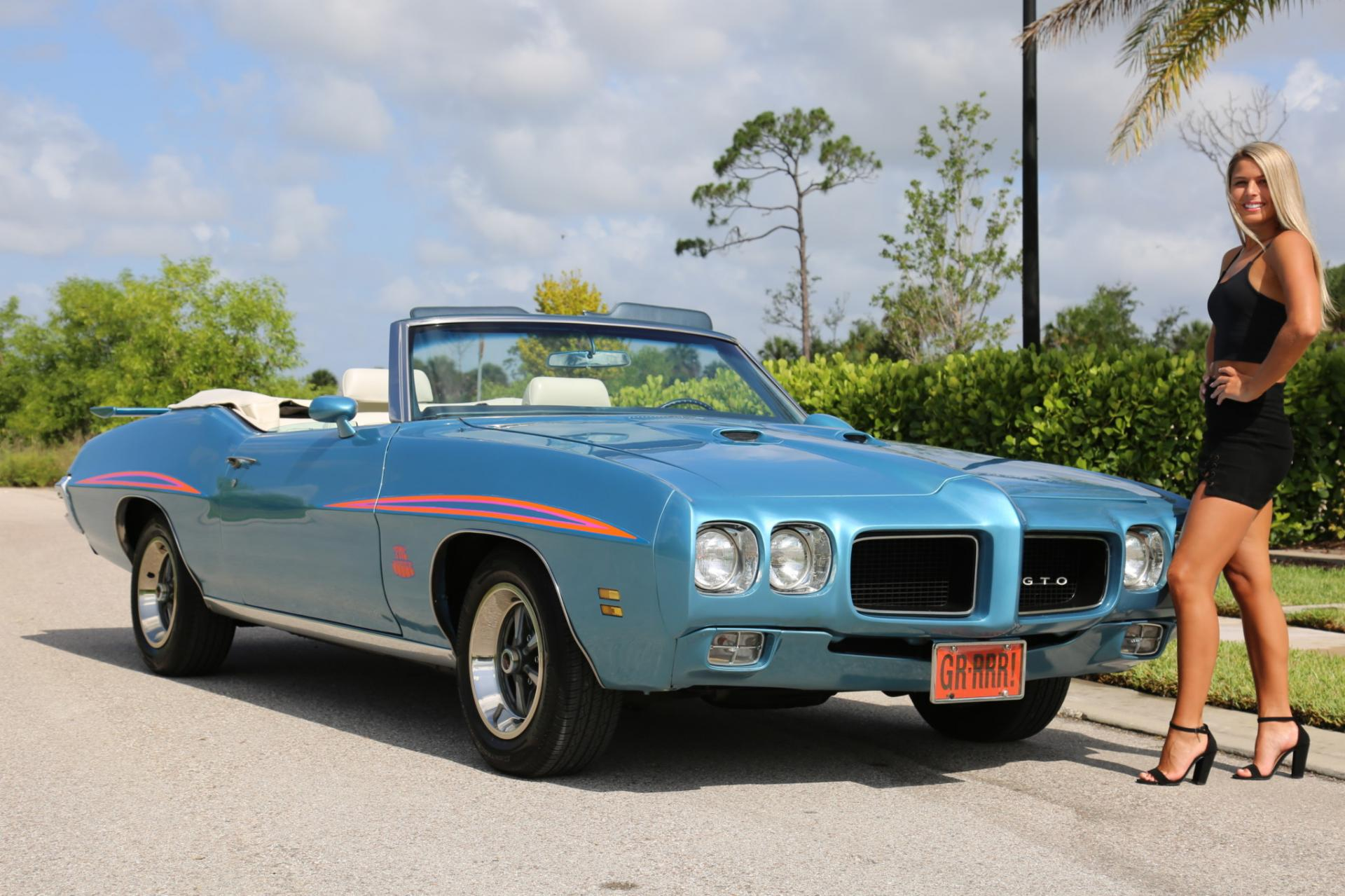 Used 1971 Pontiac GTO for sale Sold at Muscle Cars for Sale Inc. in Fort Myers FL 33912 2