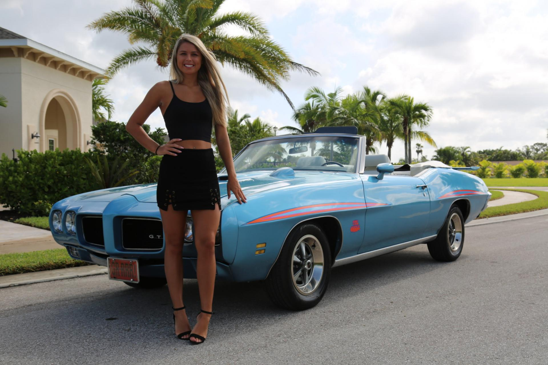 Used 1971 Pontiac GTO for sale Sold at Muscle Cars for Sale Inc. in Fort Myers FL 33912 3