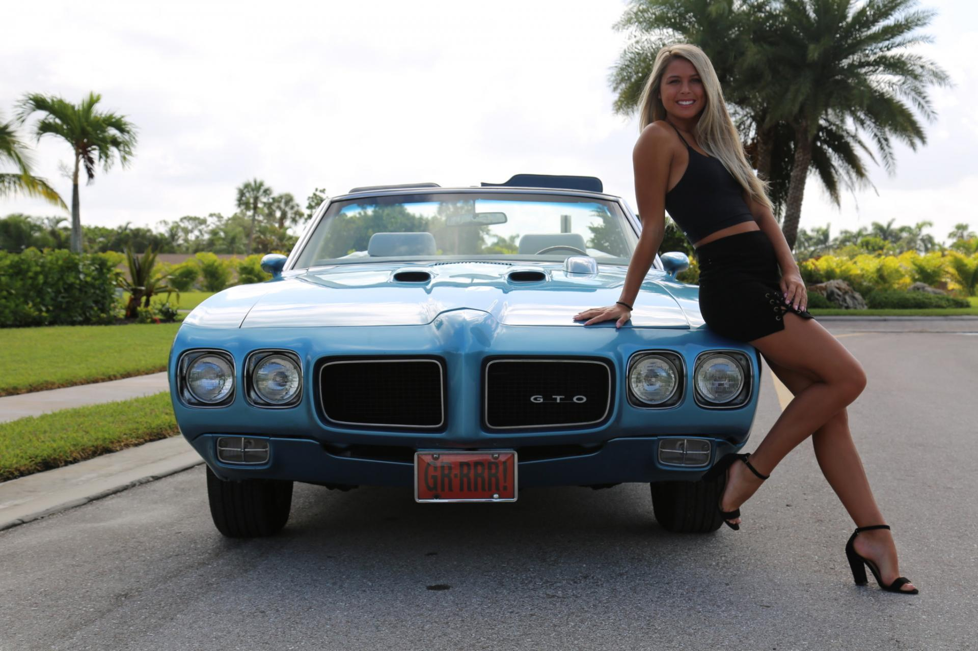 Used 1971 Pontiac GTO for sale Sold at Muscle Cars for Sale Inc. in Fort Myers FL 33912 4