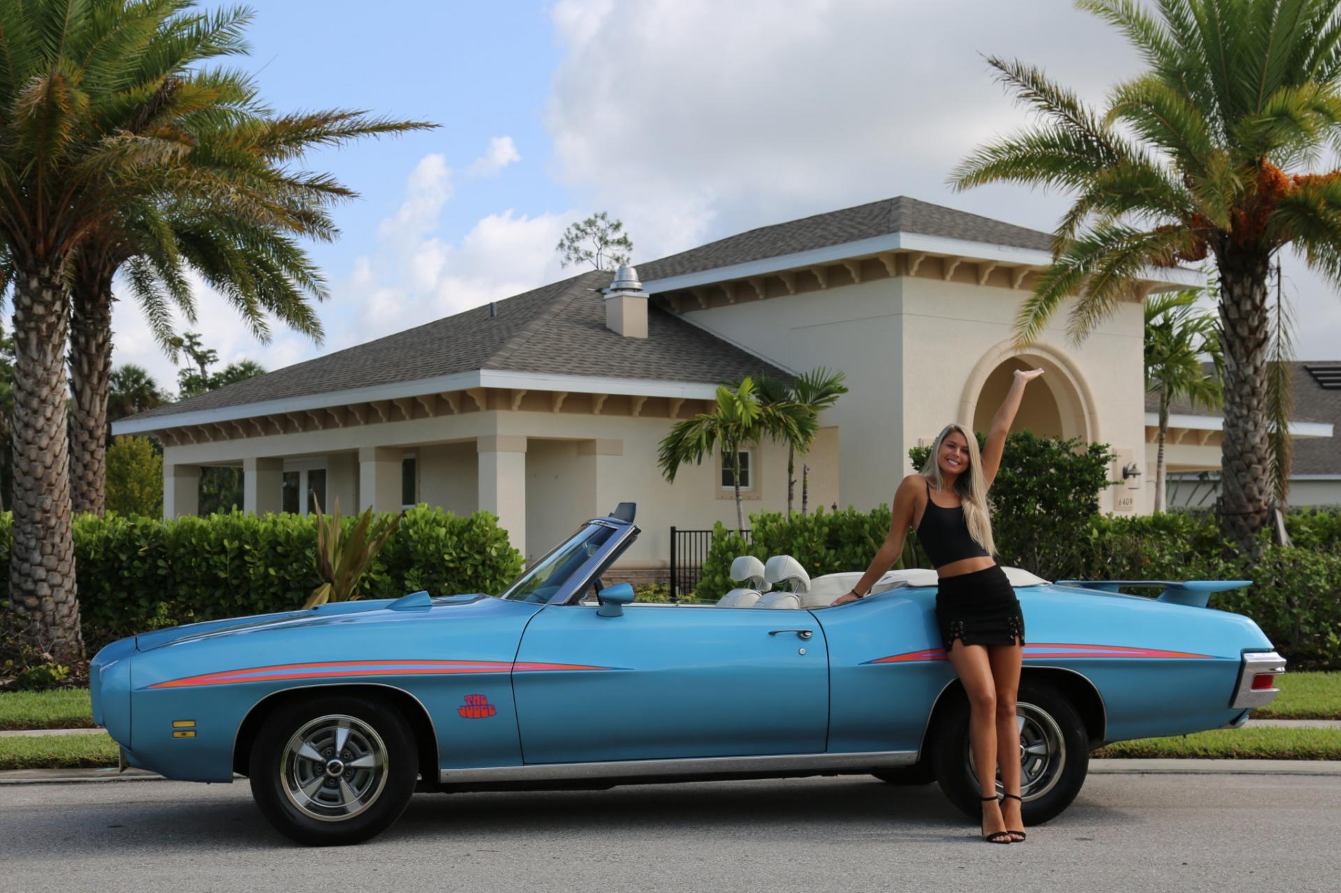 Used 1971 Pontiac GTO for sale Sold at Muscle Cars for Sale Inc. in Fort Myers FL 33912 5