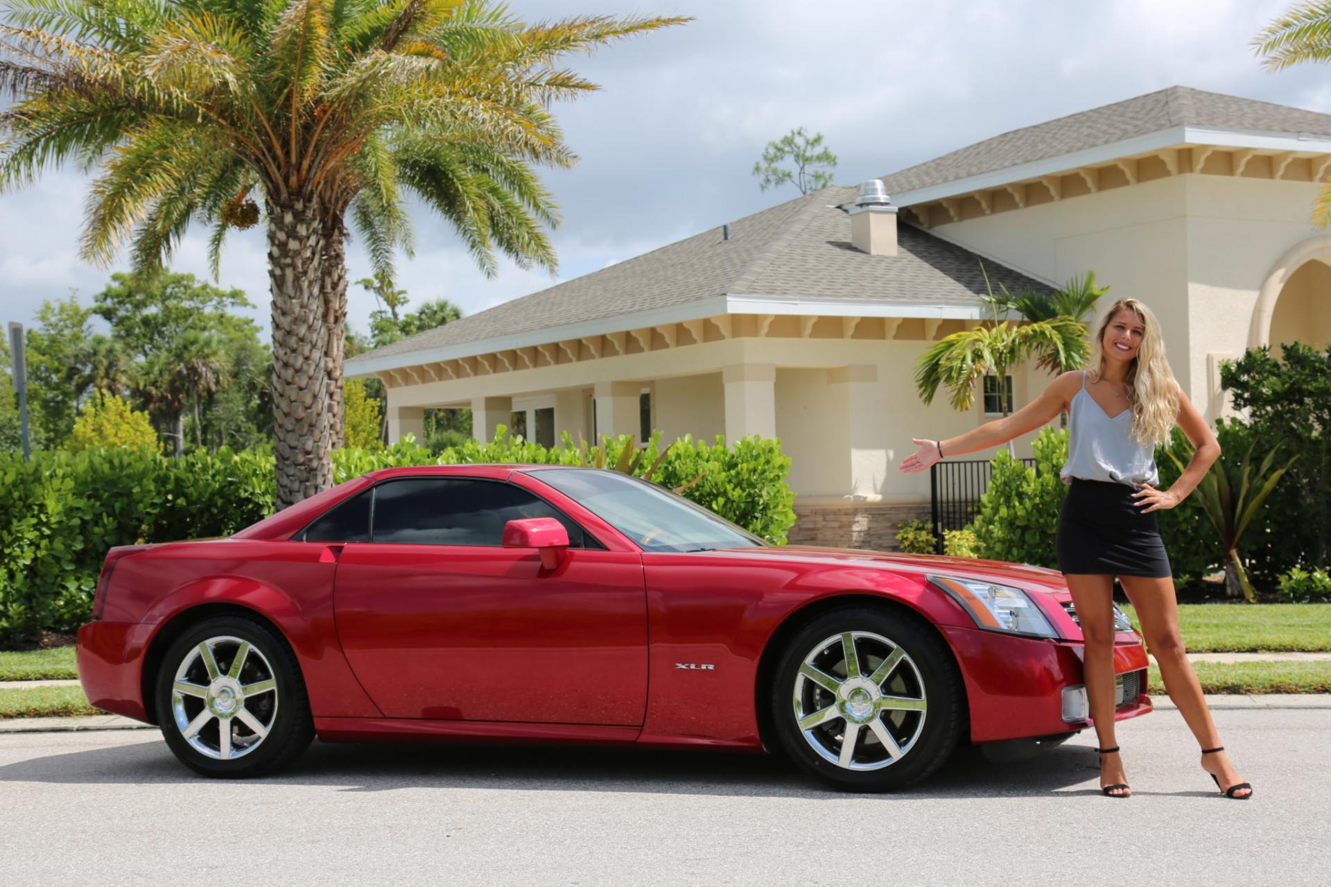 Used 2004 Cadillac XLR for sale Sold at Muscle Cars for Sale Inc. in Fort Myers FL 33912 1