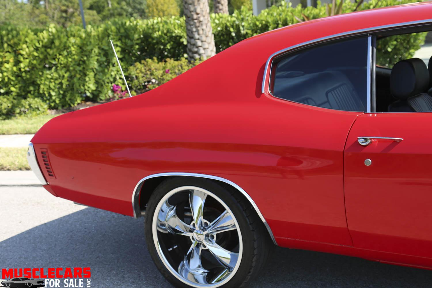 Used 1972 Chevrolet Chevelle for sale Sold at Muscle Cars for Sale Inc. in Fort Myers FL 33912 6