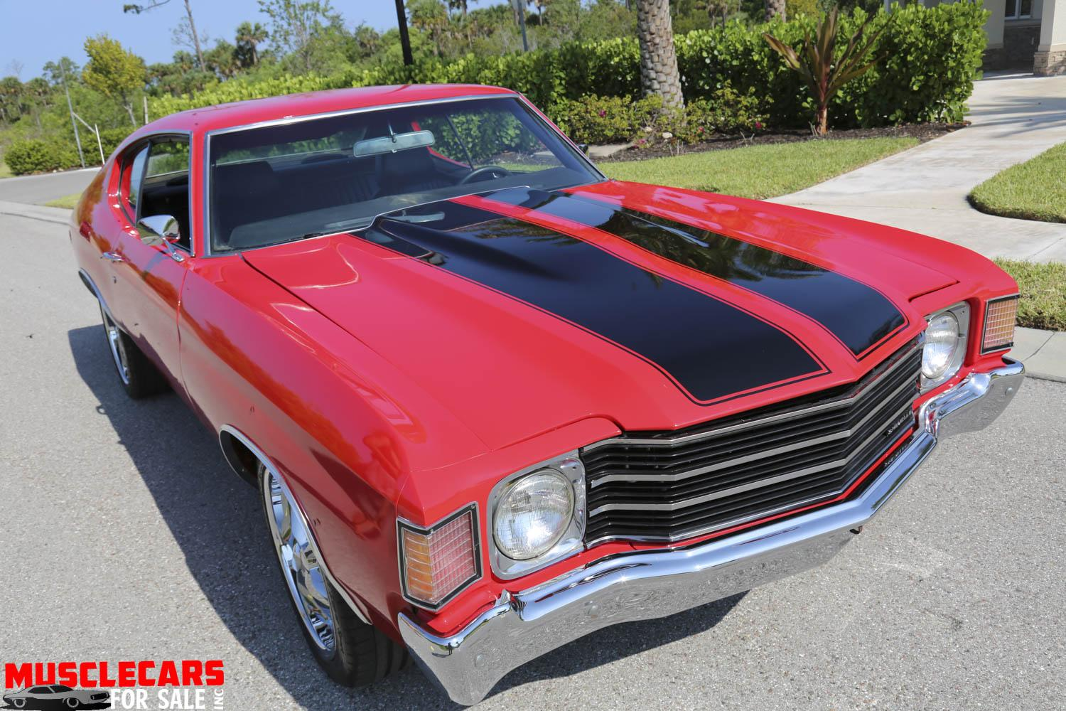 Used 1972 Chevrolet Chevelle for sale Sold at Muscle Cars for Sale Inc. in Fort Myers FL 33912 8