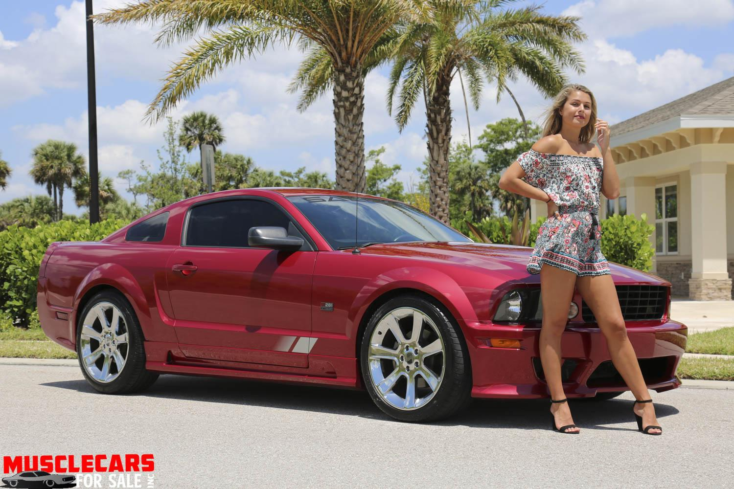 Used 2005 Ford  Mustang Saleen for sale $24,500 at Muscle Cars for Sale Inc. in Fort Myers FL 33912 1