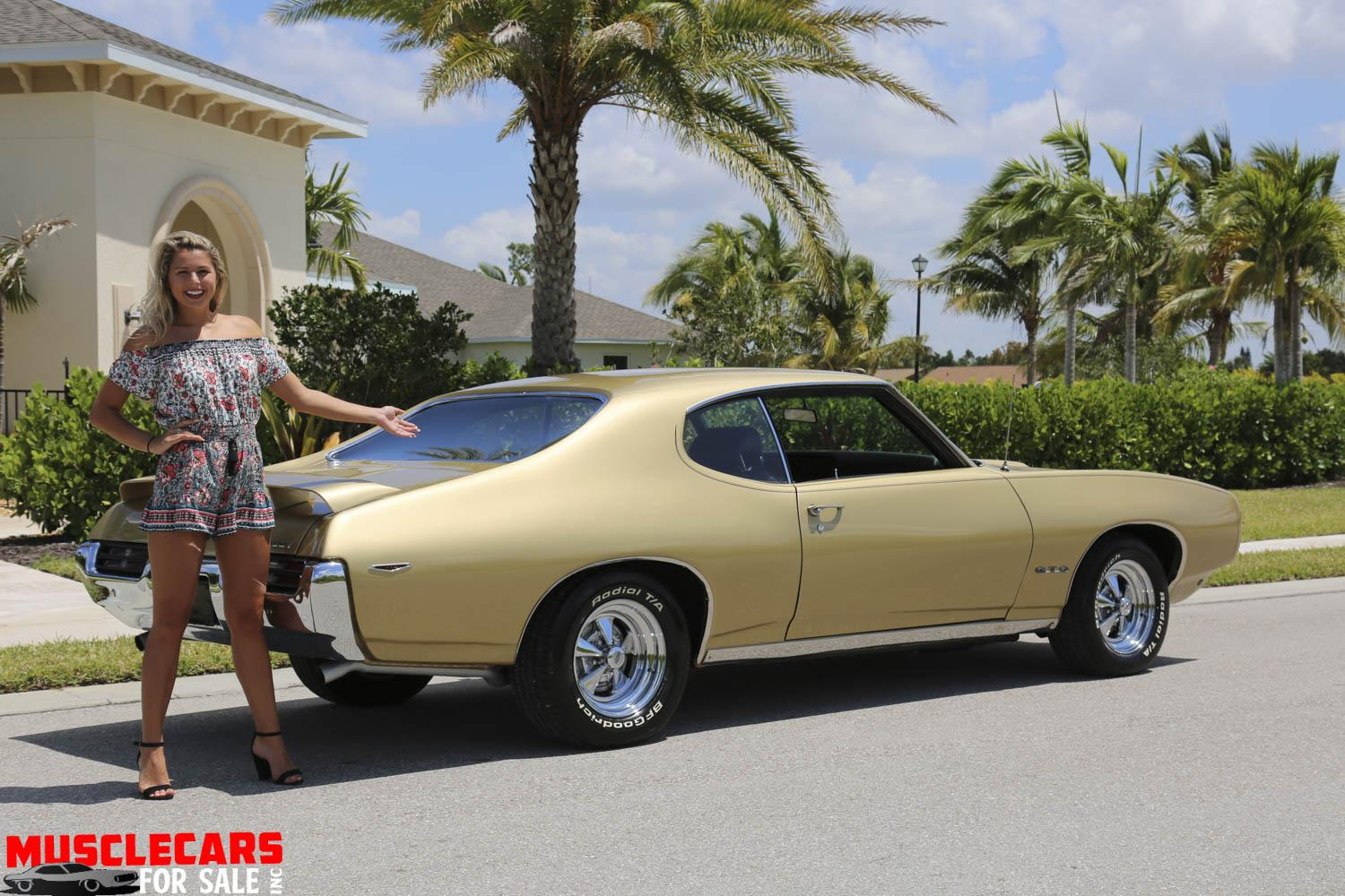 Used 1969 Pontiac  GTO for sale Sold at Muscle Cars for Sale Inc. in Fort Myers FL 33912 6