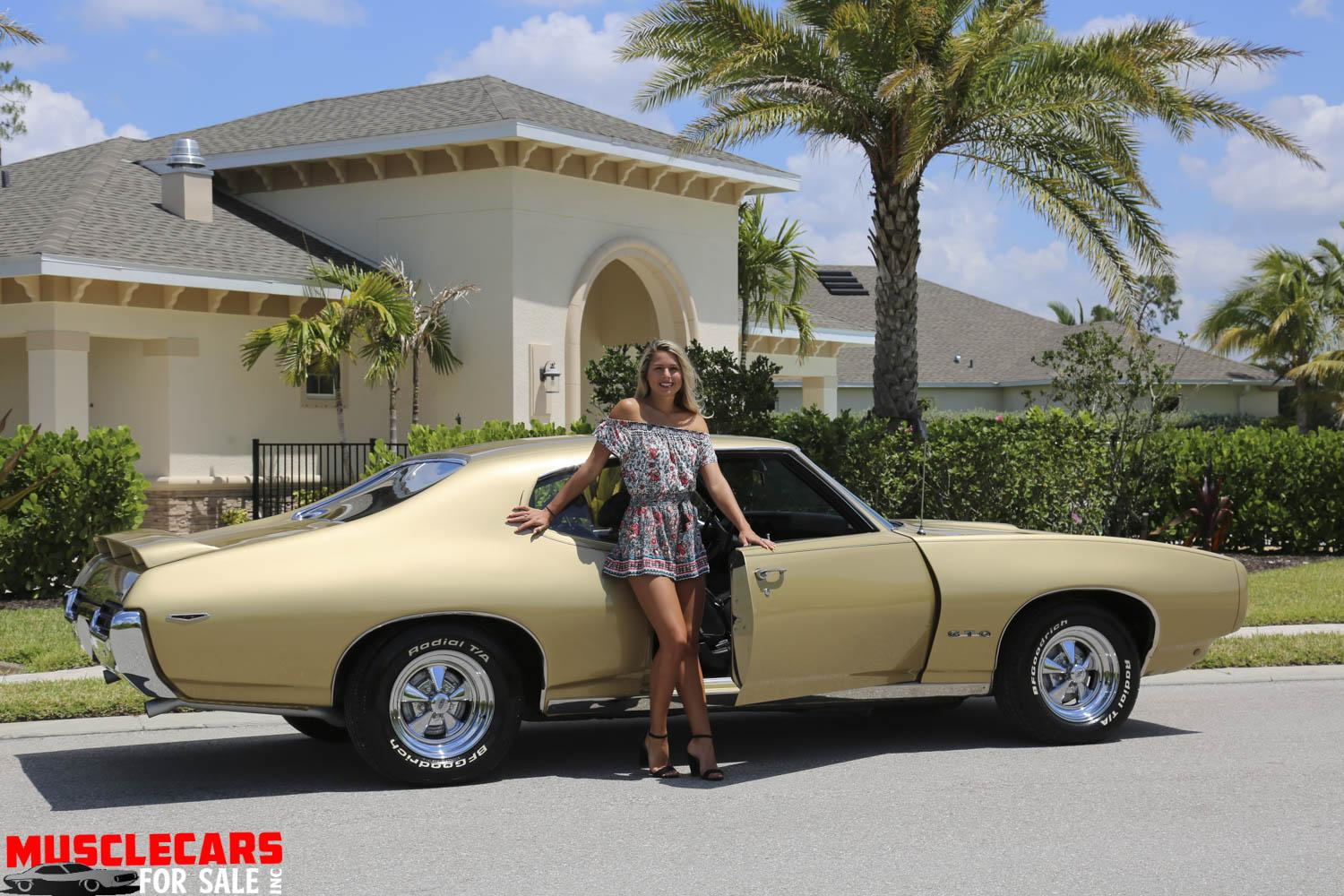 Used 1969 Pontiac GTO for sale Sold at Muscle Cars for Sale Inc. in Fort Myers FL 33912 7