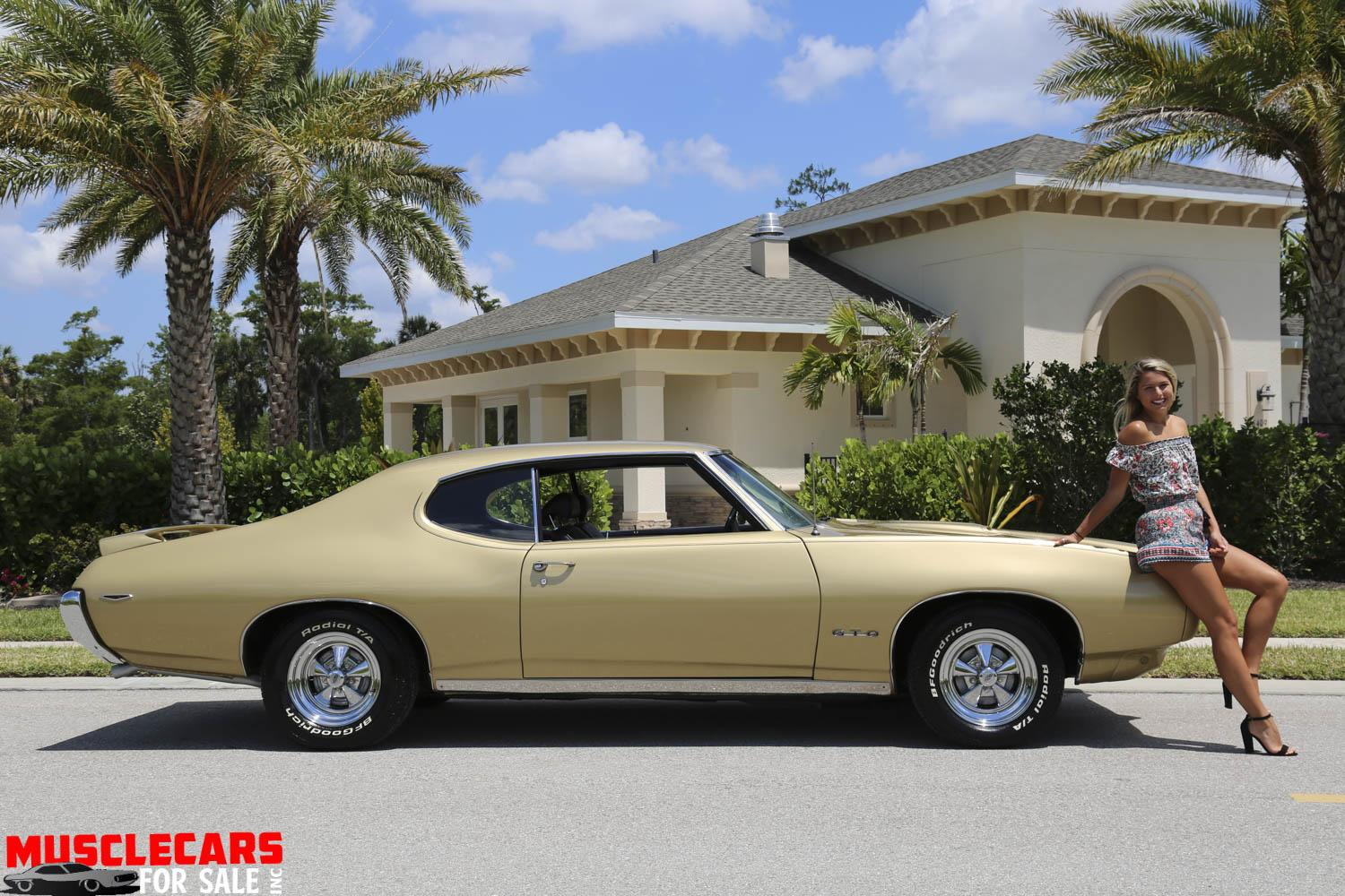 Used 1969 Pontiac GTO for sale Sold at Muscle Cars for Sale Inc. in Fort Myers FL 33912 8