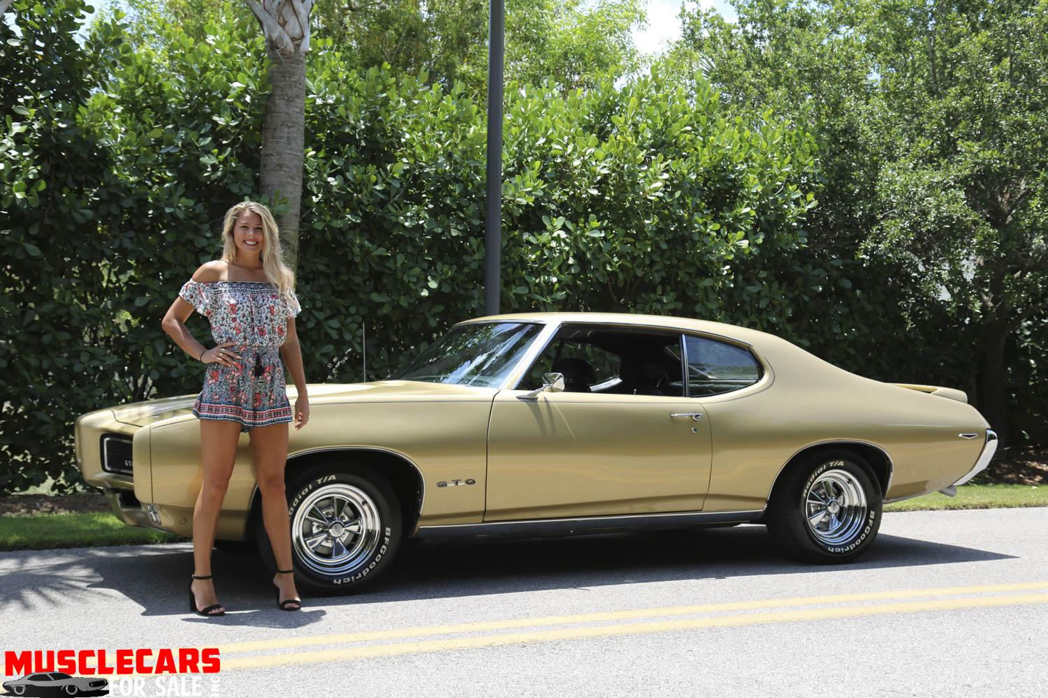 Used 1969 Pontiac Gto For Sale 33 000 Muscle Cars For Sale Inc Stock 1929
