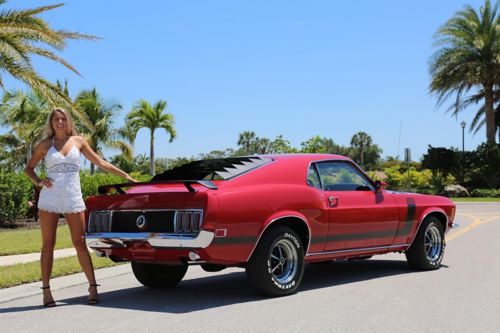 Used 1970 Ford Mustang 302 Boss for sale Sold at Muscle Cars for Sale Inc. in Fort Myers FL 33912 4