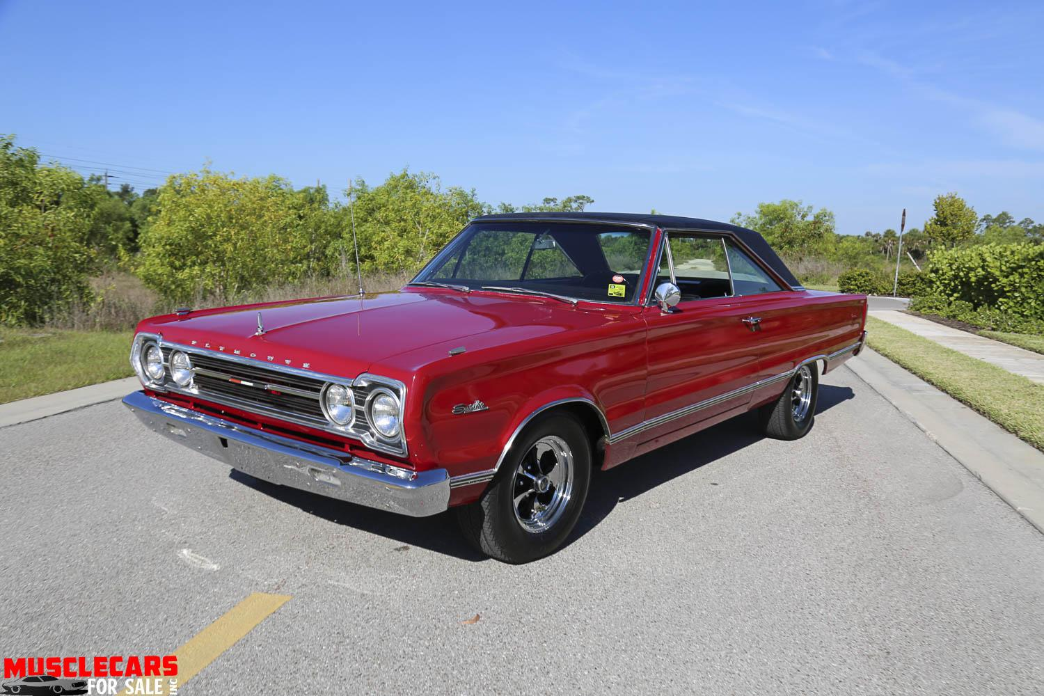 Used 1967 Plymouth Satellite for sale Sold at Muscle Cars for Sale Inc. in Fort Myers FL 33912 3