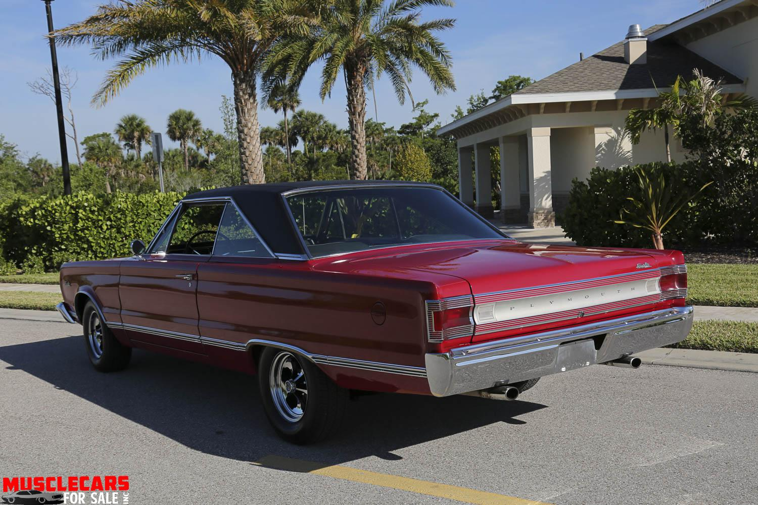 Used 1967 Plymouth Satellite for sale Sold at Muscle Cars for Sale Inc. in Fort Myers FL 33912 5