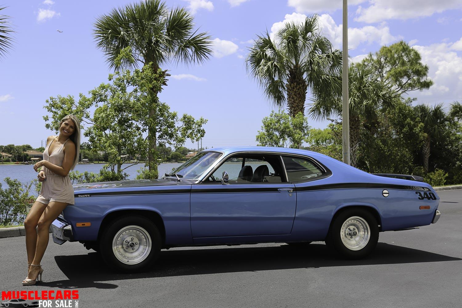 Used 1972 Plymouth Duster for sale Sold at Muscle Cars for Sale Inc. in Fort Myers FL 33912 3