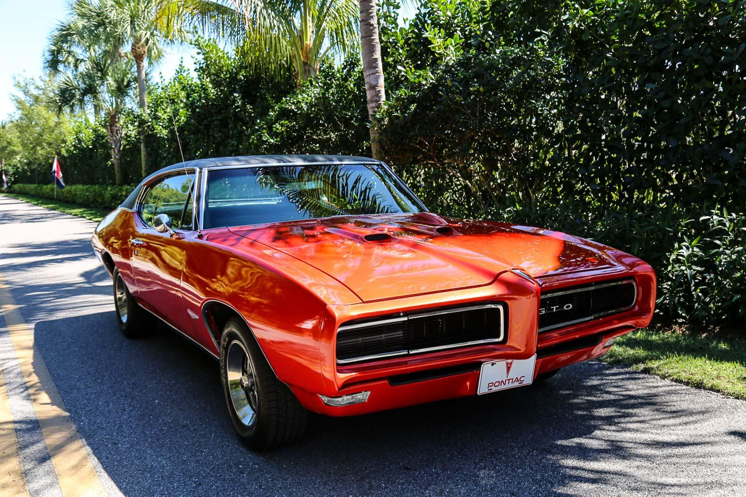 Used 1968 Pontiac GTO for sale Sold at Muscle Cars for Sale Inc. in Fort Myers FL 33912 5