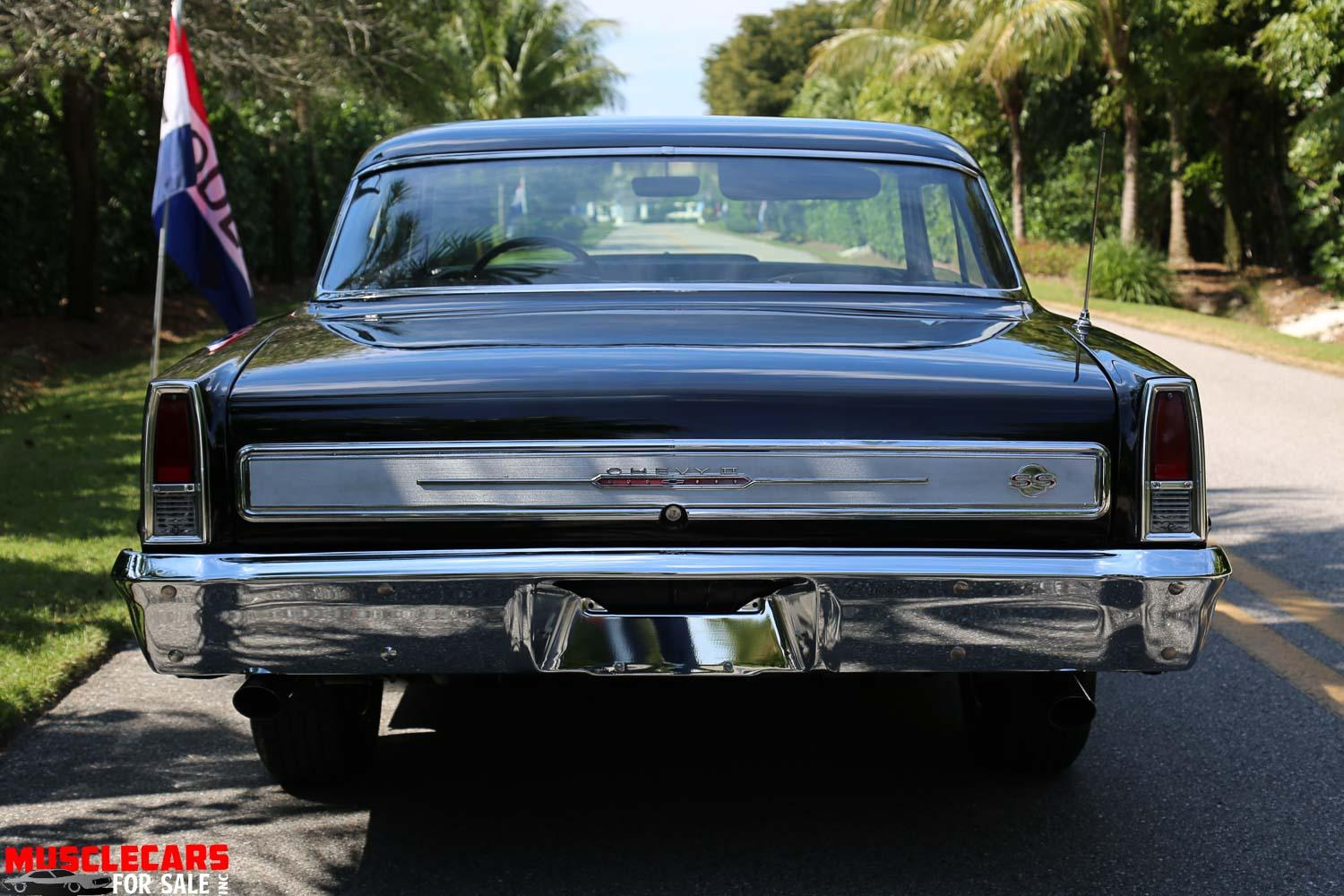 Used 1966 Chevrolet Nova SS for sale Sold at Muscle Cars for Sale Inc. in Fort Myers FL 33912 7