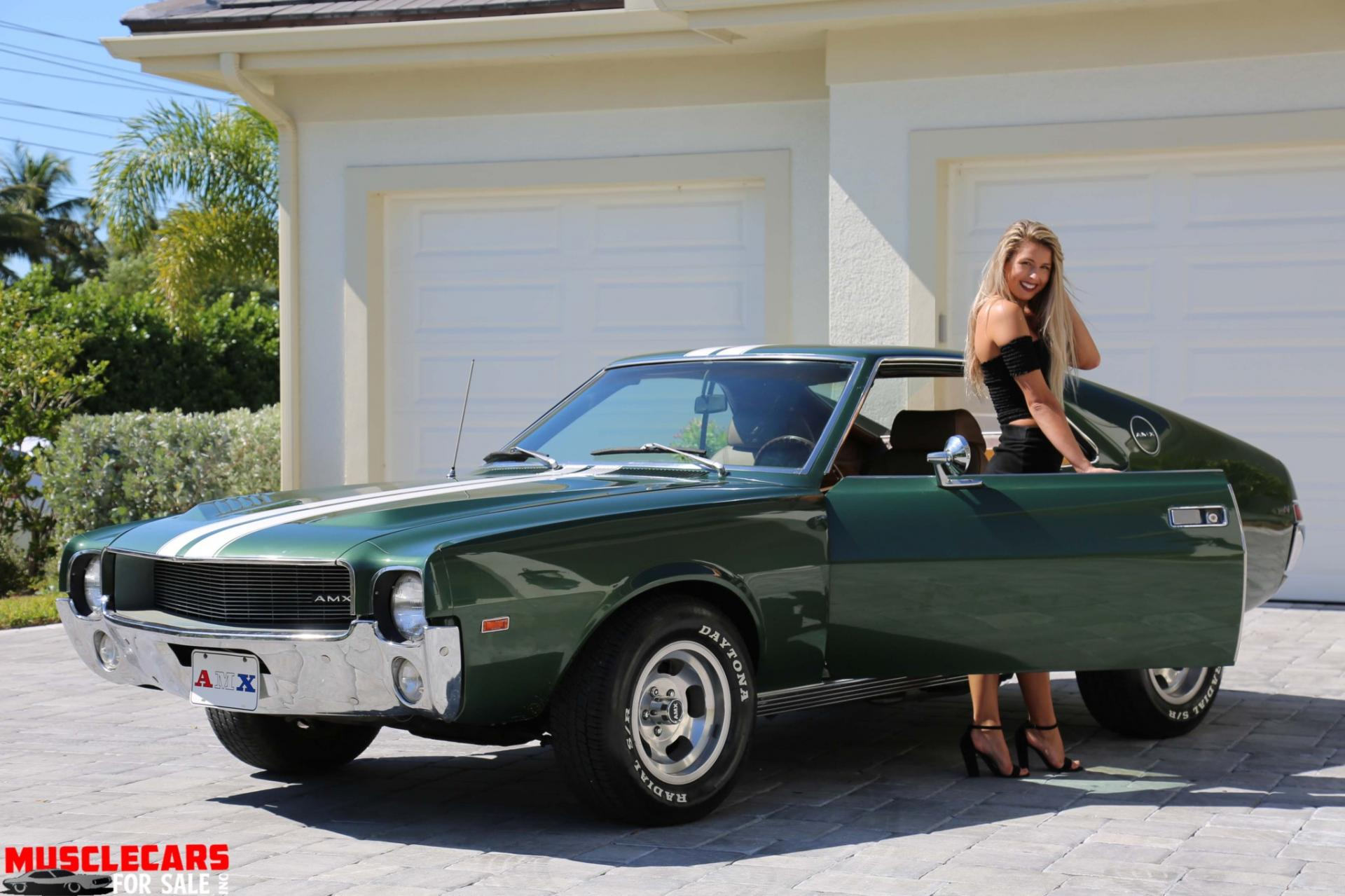 Used 1969 AMC AMX for sale Sold at Muscle Cars for Sale Inc. in Fort Myers FL 33912 2