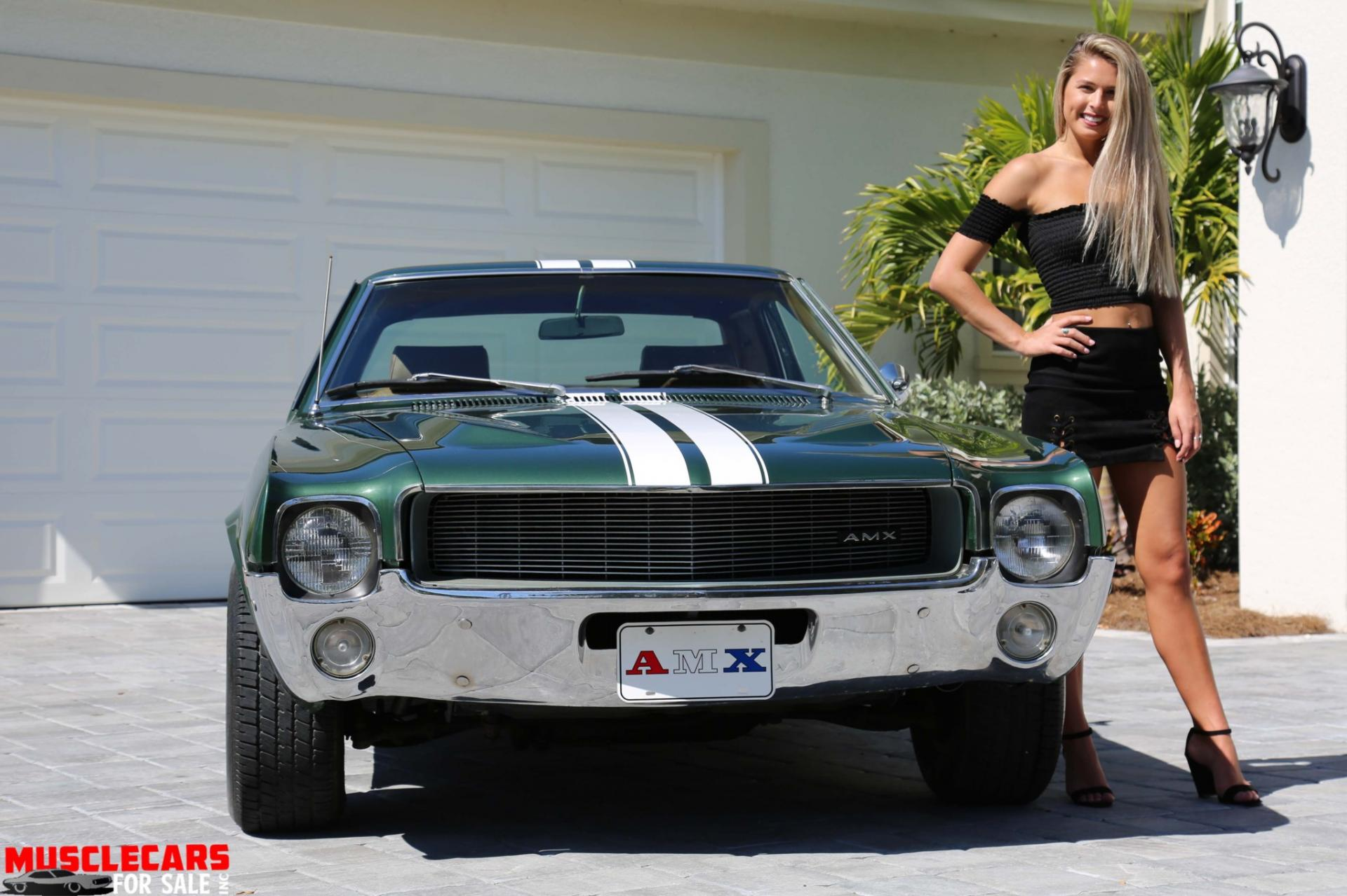 Used 1969 AMC AMX for sale Sold at Muscle Cars for Sale Inc. in Fort Myers FL 33912 8