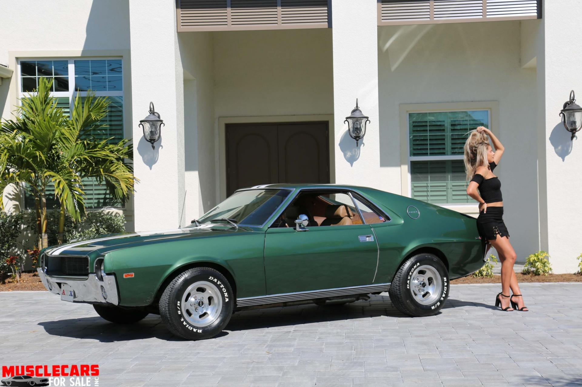 Used 1969 AMC AMX for sale Sold at Muscle Cars for Sale Inc. in Fort Myers FL 33912 1
