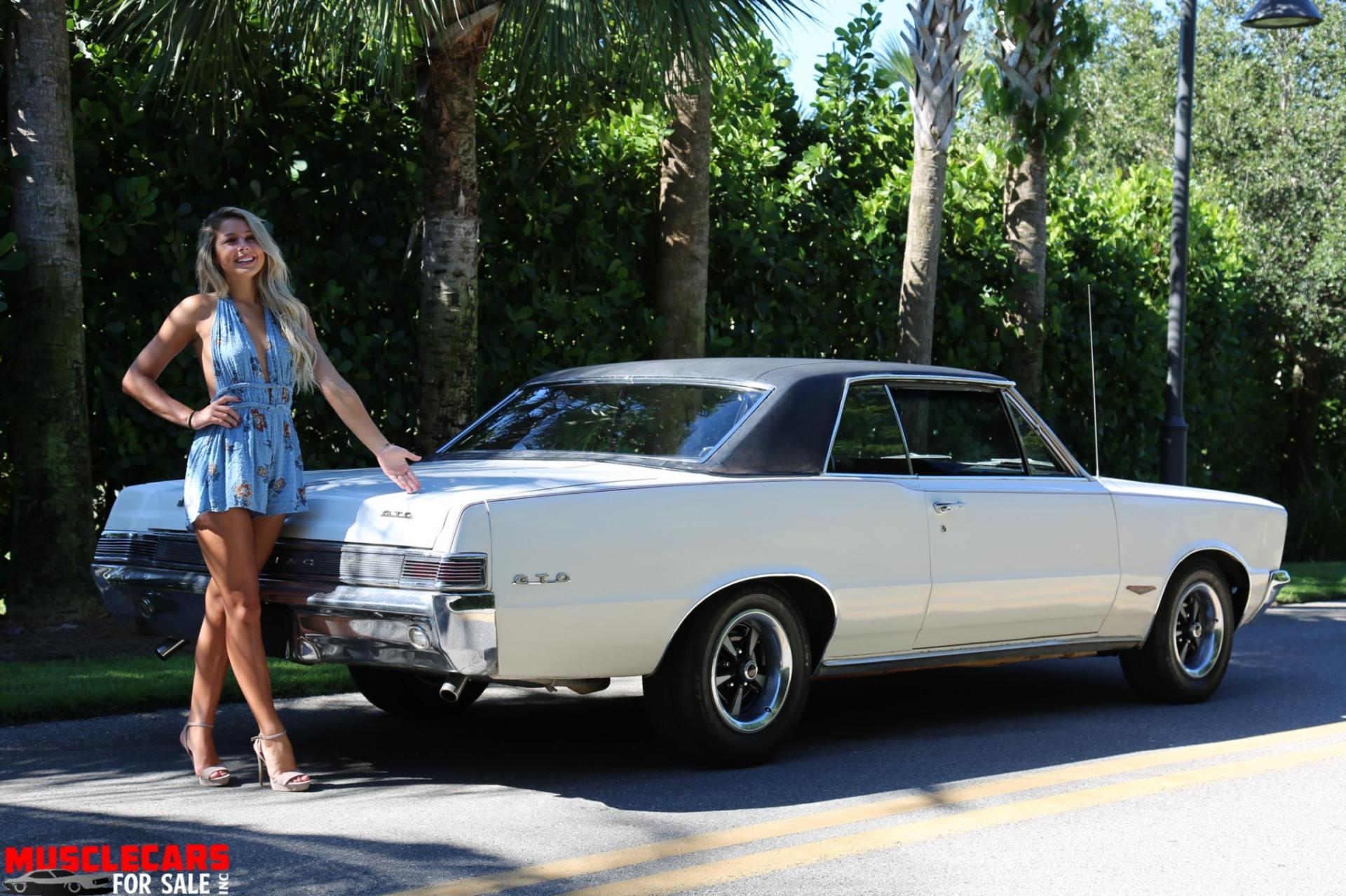 Used 1965 Pontiac  GTO for sale Sold at Muscle Cars for Sale Inc. in Fort Myers FL 33912 4