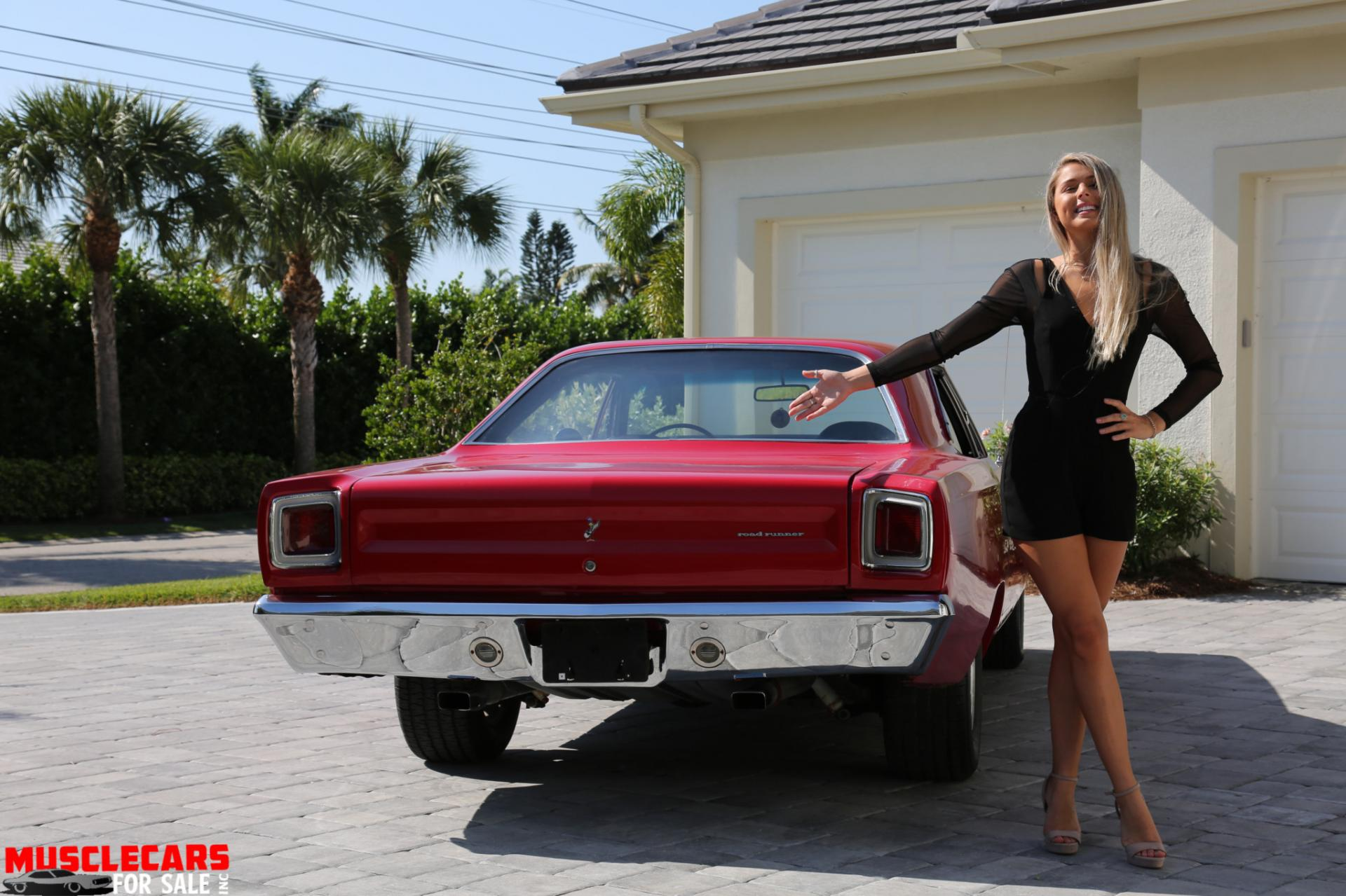 Used 1969 Plymouth  Road Runner for sale Sold at Muscle Cars for Sale Inc. in Fort Myers FL 33912 8