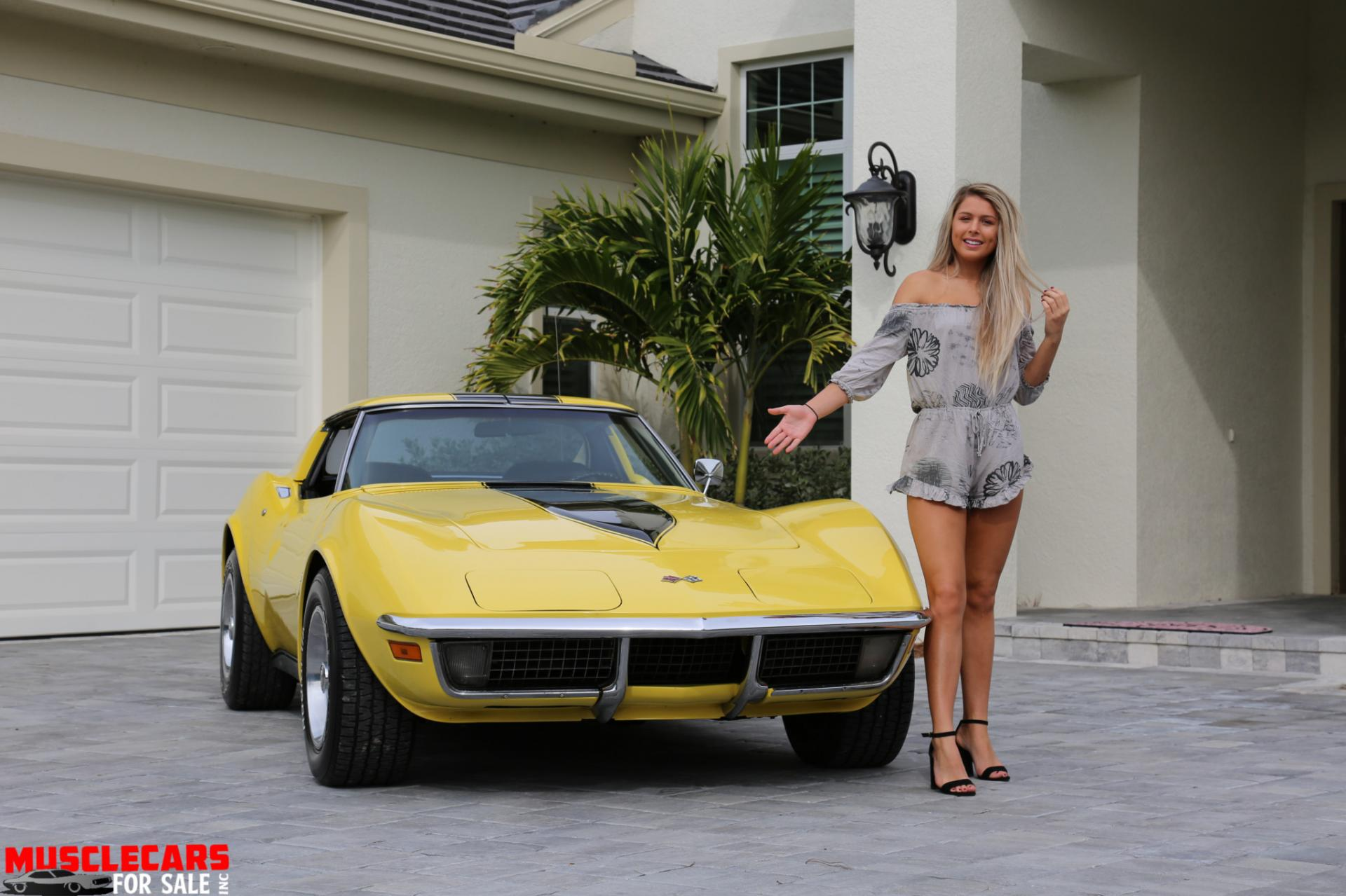 Used 1971 Chevrolet Corvette Stingray for sale Sold at Muscle Cars for Sale Inc. in Fort Myers FL 33912 7