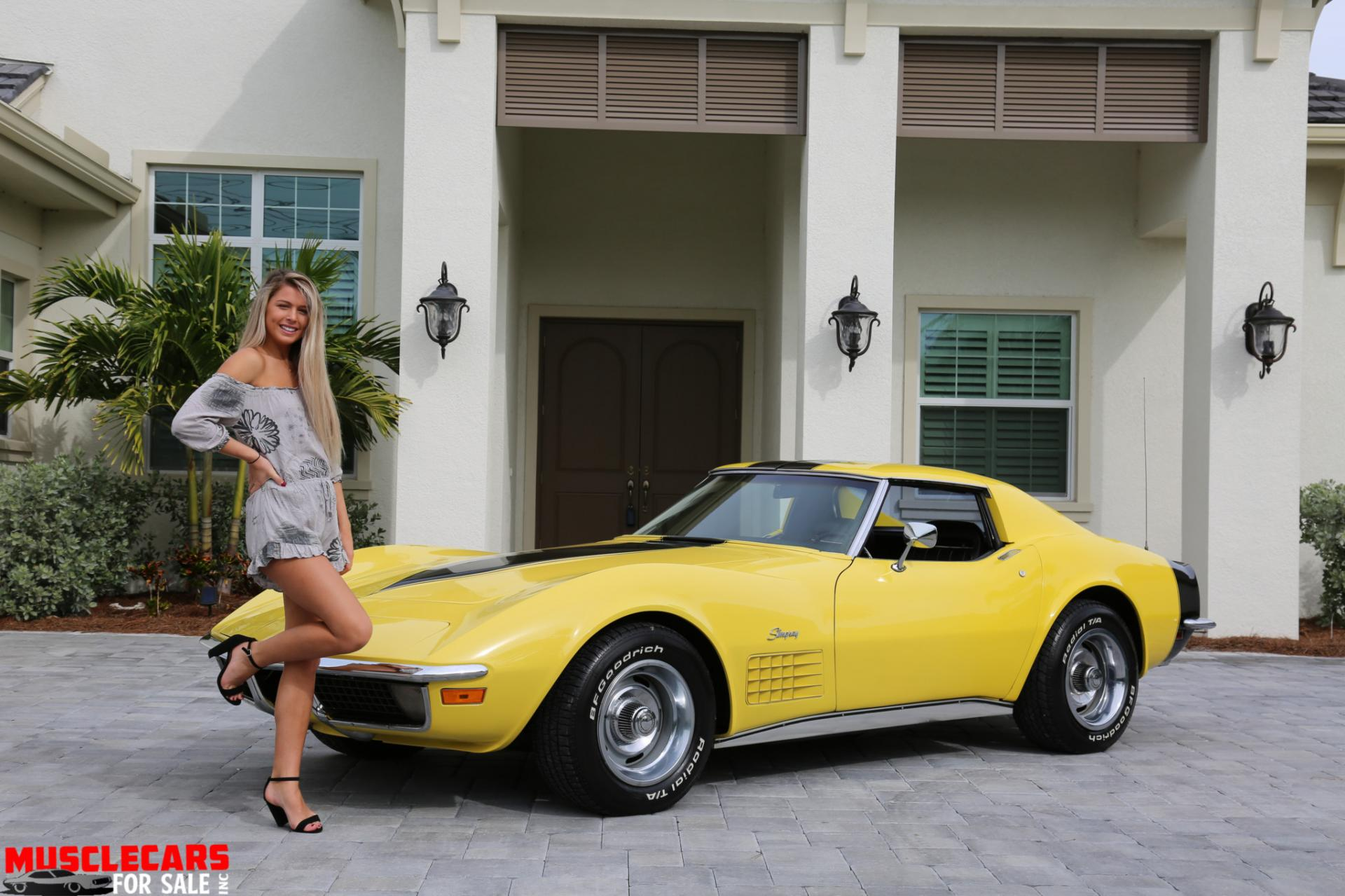 Used 1971 Chevrolet Corvette Stingray for sale Sold at Muscle Cars for Sale Inc. in Fort Myers FL 33912 1