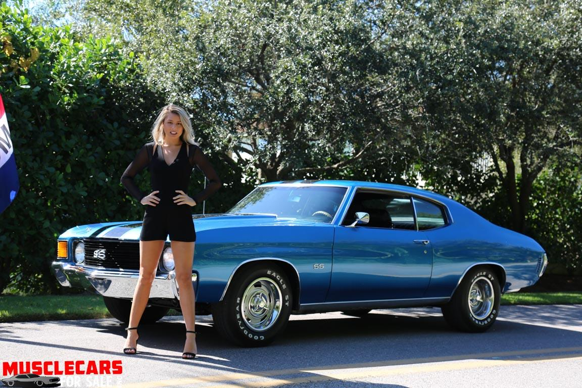 Used 1972 Chevrolet Chevelle SS for sale Sold at Muscle Cars for Sale Inc. in Fort Myers FL 33912 2