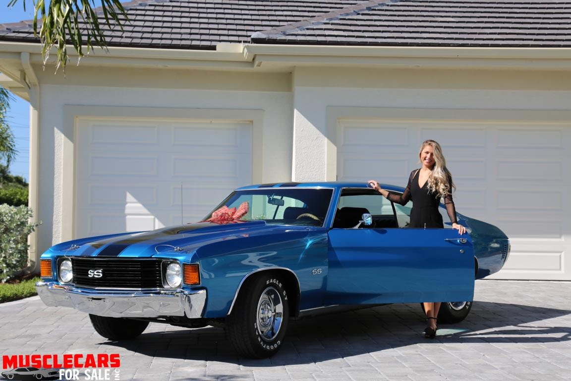 Used 1972 Chevrolet Chevelle SS for sale Sold at Muscle Cars for Sale Inc. in Fort Myers FL 33912 5