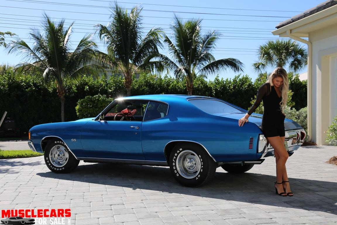 Used 1972 Chevrolet Chevelle SS for sale Sold at Muscle Cars for Sale Inc. in Fort Myers FL 33912 8