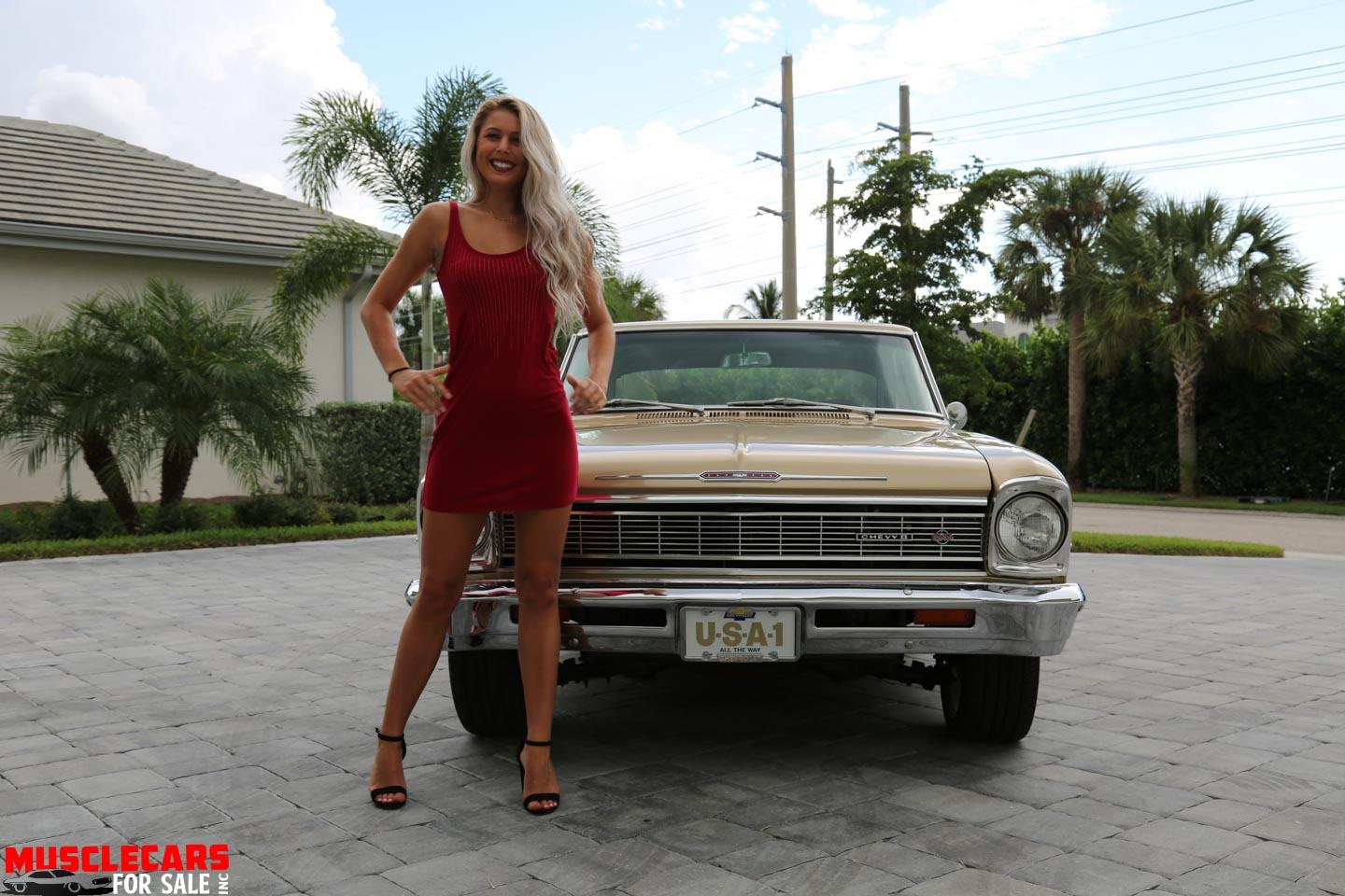 Used 1966 Chevrolet Nova SS for sale Sold at Muscle Cars for Sale Inc. in Fort Myers FL 33912 6