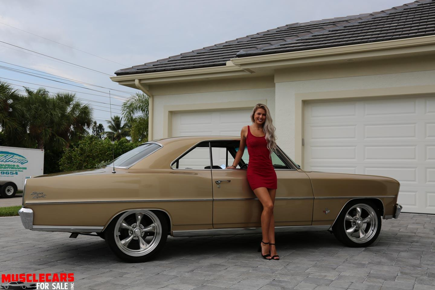 Used 1966 Chevrolet Nova SS for sale Sold at Muscle Cars for Sale Inc. in Fort Myers FL 33912 8
