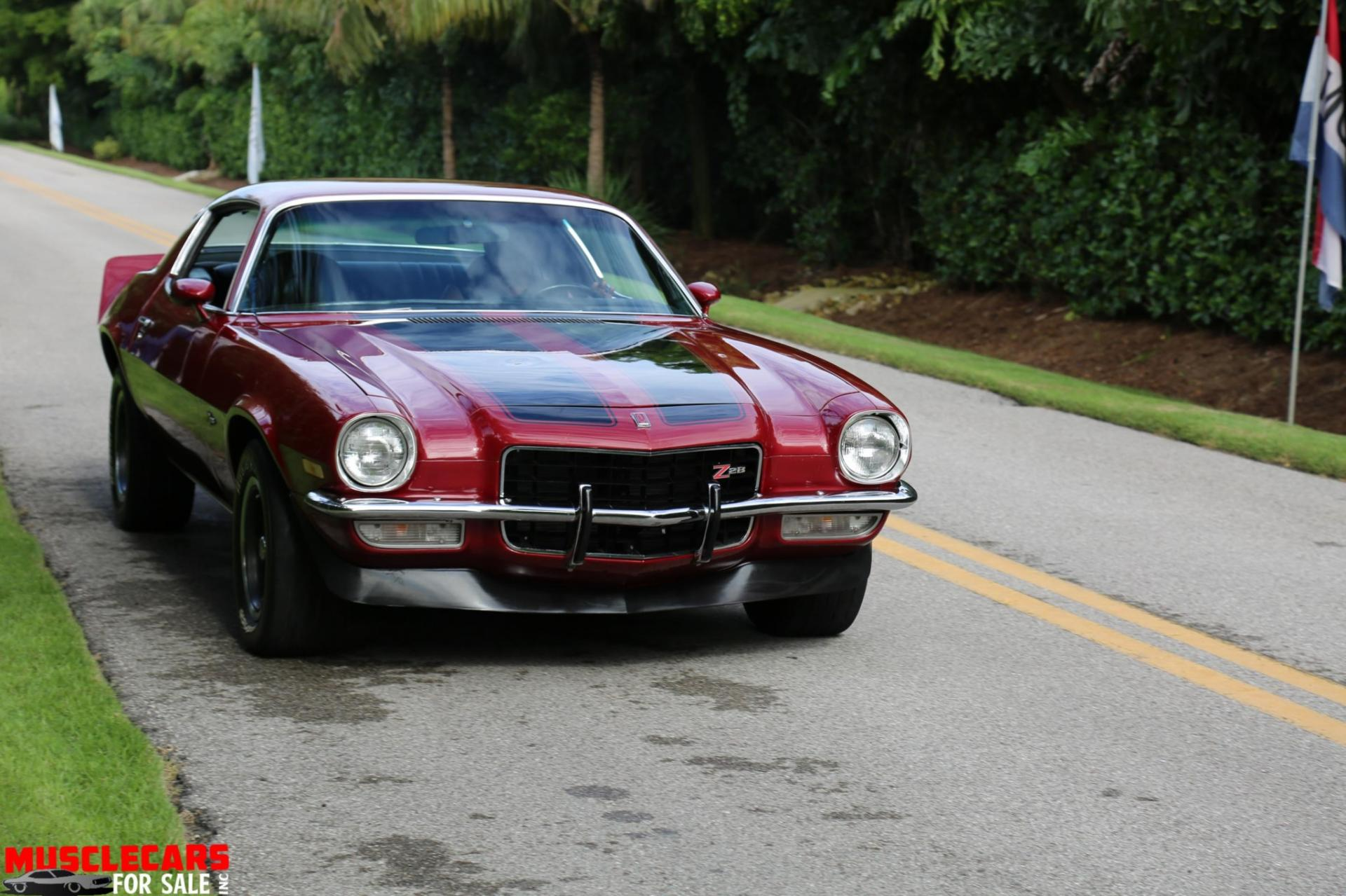 Used 1973 Chevrolet Camaro Z/28 for sale Sold at Muscle Cars for Sale Inc. in Fort Myers FL 33912 4