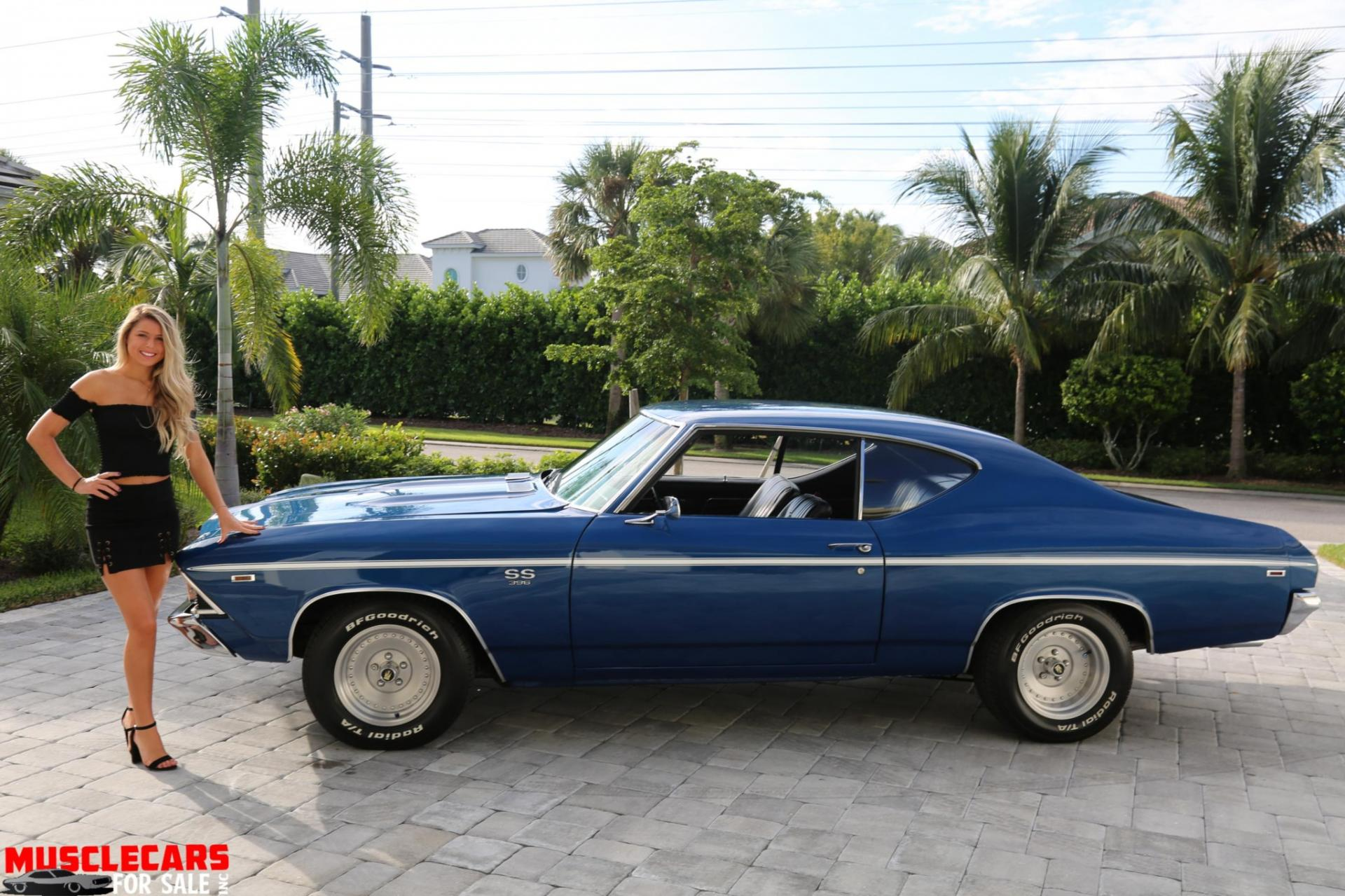 Used 1969 Chevrolet Chevelle SS for sale Sold at Muscle Cars for Sale Inc. in Fort Myers FL 33912 2