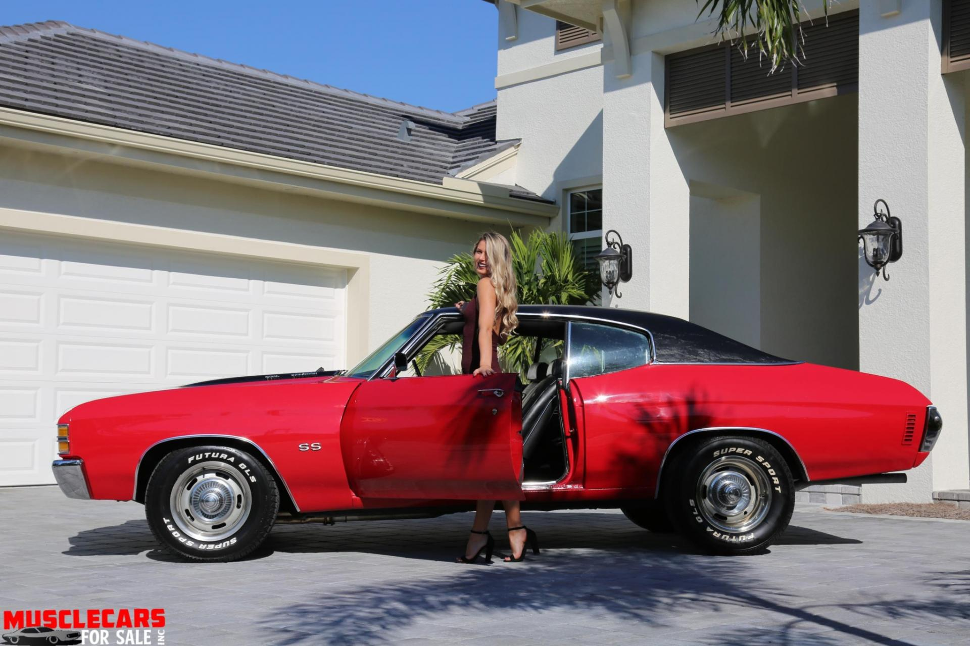 Used 1971 Chevrolet Chevelle SS for sale Sold at Muscle Cars for Sale Inc. in Fort Myers FL 33912 1