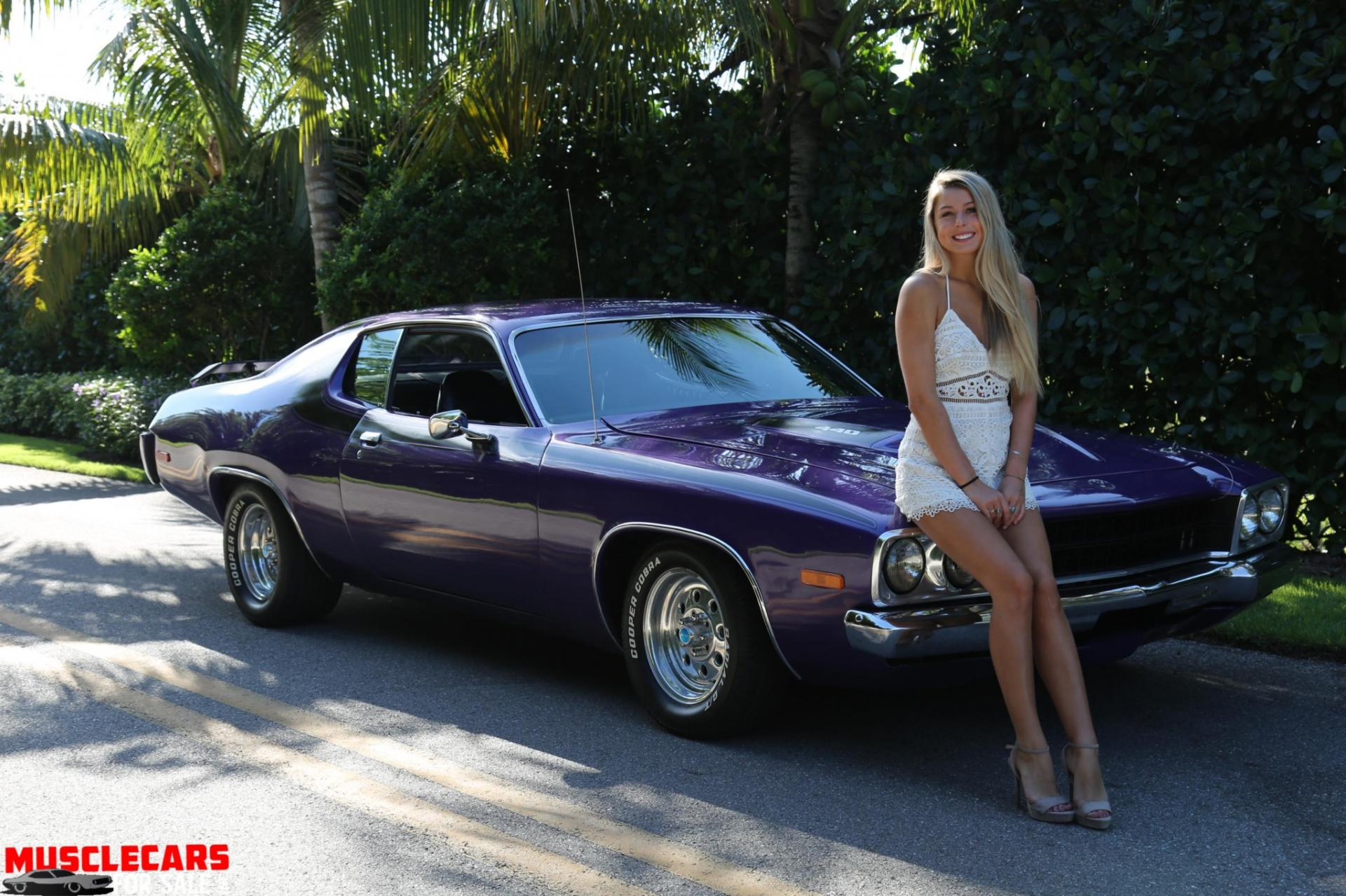Used 1973 Plymouth  Road Runner for sale Sold at Muscle Cars for Sale Inc. in Fort Myers FL 33912 3