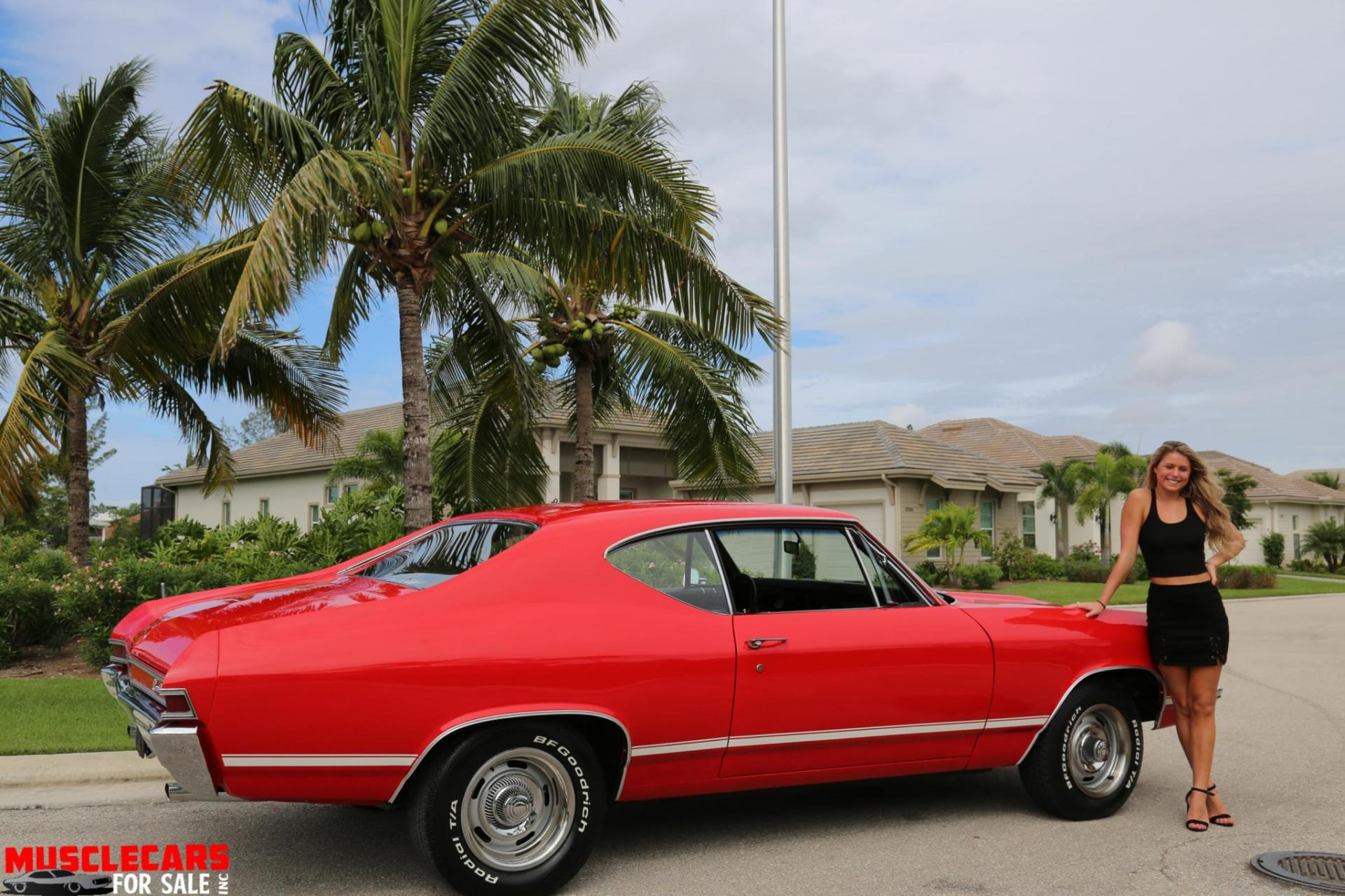 Used 1968 Chevrolet Chevelle for sale Sold at Muscle Cars for Sale Inc. in Fort Myers FL 33912 4