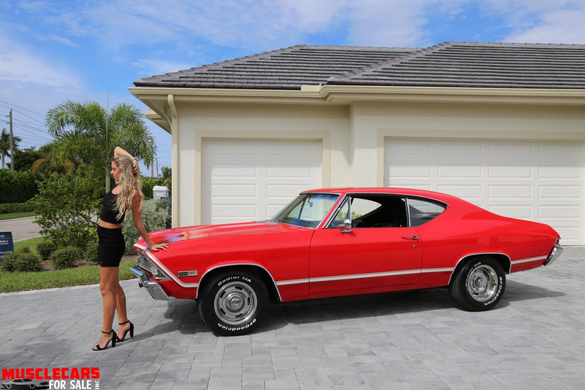 Used 1968 Chevrolet Chevelle for sale Sold at Muscle Cars for Sale Inc. in Fort Myers FL 33912 8
