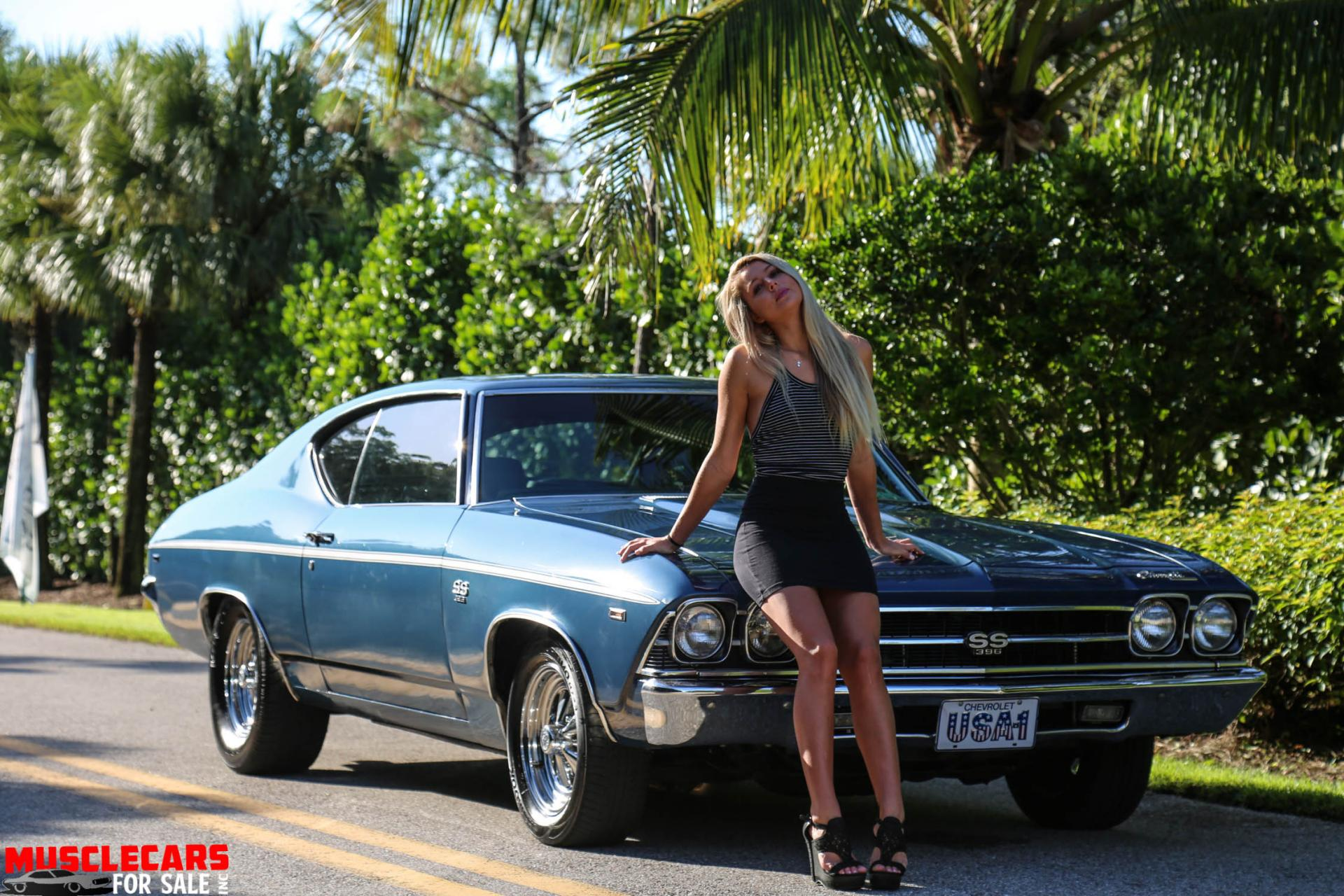 Used 1969 Chevrolet Chevelle SS for sale Sold at Muscle Cars for Sale Inc. in Fort Myers FL 33912 1