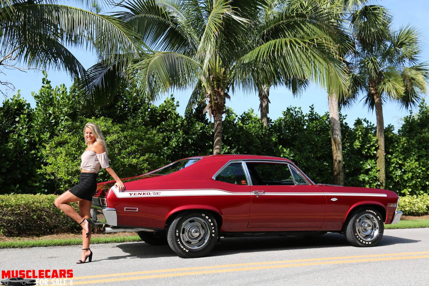 Used 1972 Chevrolet Nova for sale Sold at Muscle Cars for Sale Inc. in Fort Myers FL 33912 3