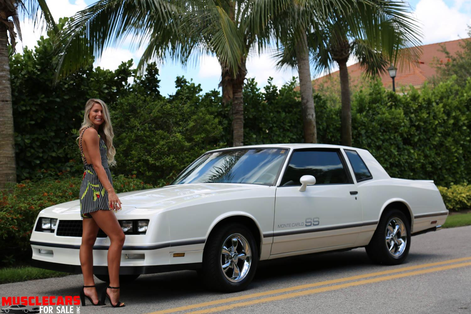 Used 1984 Chevrolet Monte Carlo SS for sale Sold at Muscle Cars for Sale Inc. in Fort Myers FL 33912 2