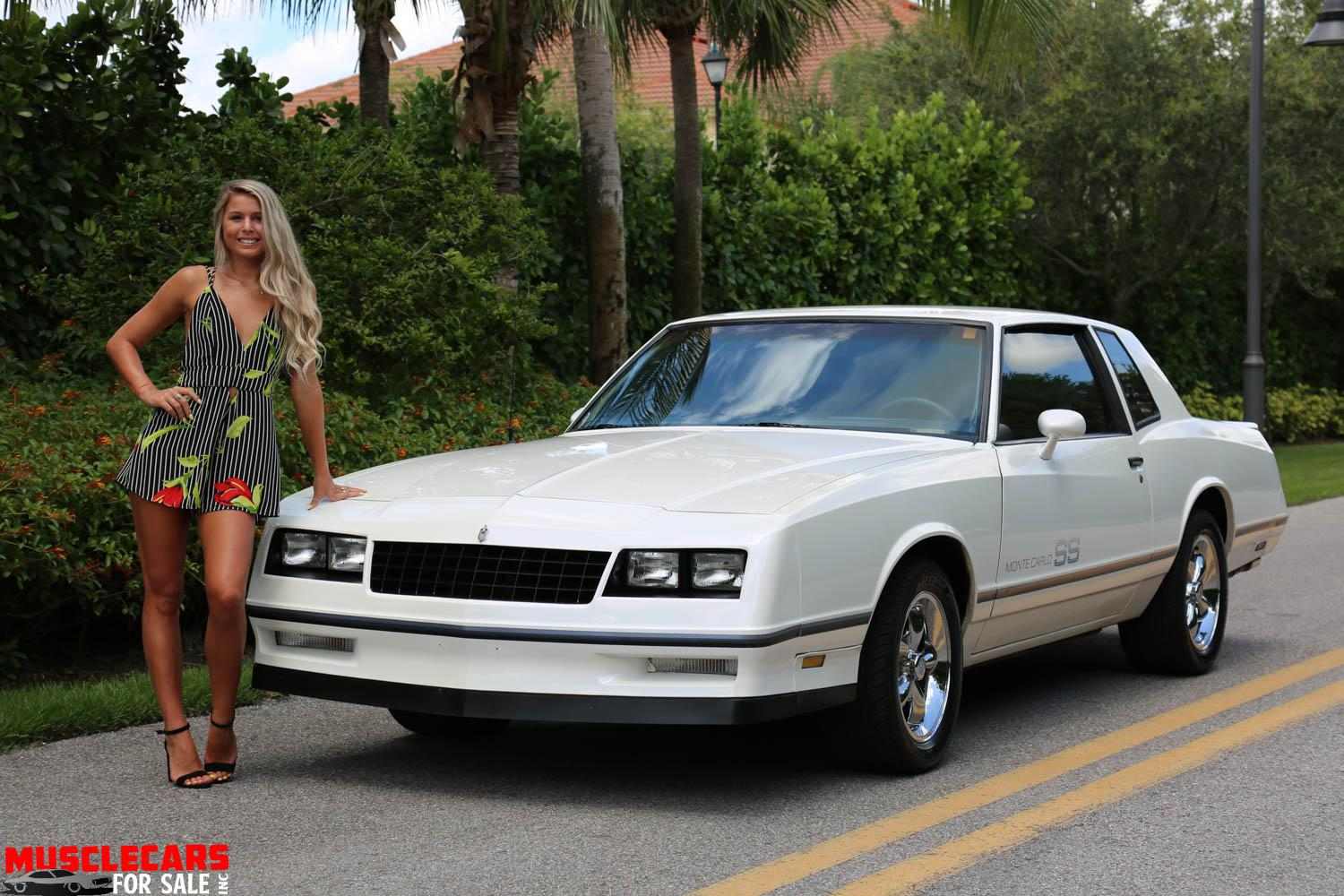 Used 1984 Chevrolet Monte Carlo SS for sale Sold at Muscle Cars for Sale Inc. in Fort Myers FL 33912 3