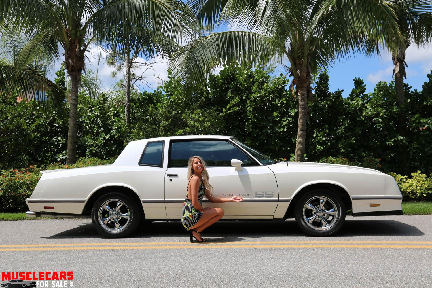 Used 1984 Chevrolet Monte Carlo SS for sale Sold at Muscle Cars for Sale Inc. in Fort Myers FL 33912 7